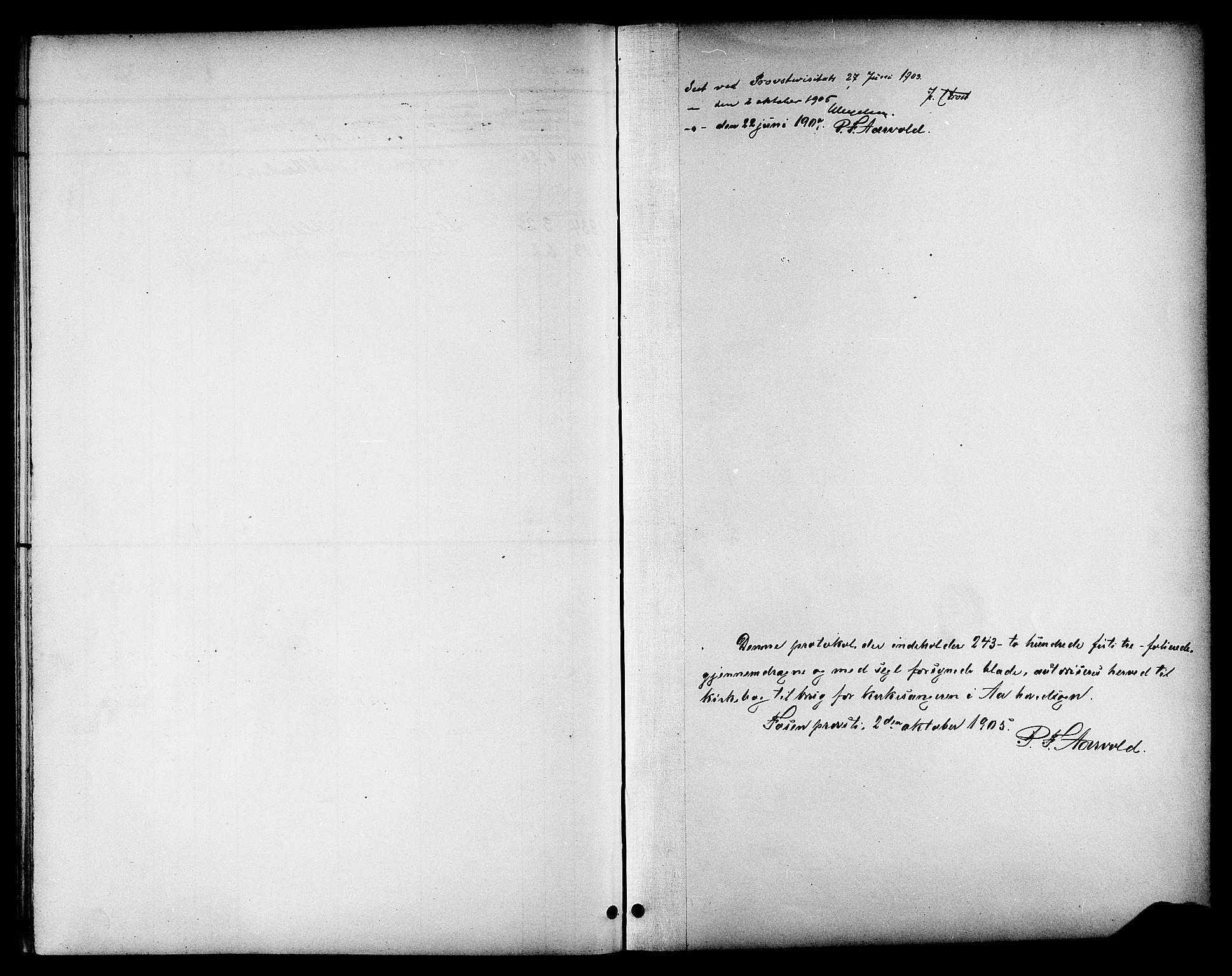 SAT, Ministerialprotokoller, klokkerbøker og fødselsregistre - Sør-Trøndelag, 655/L0688: Klokkerbok nr. 655C04, 1899-1922