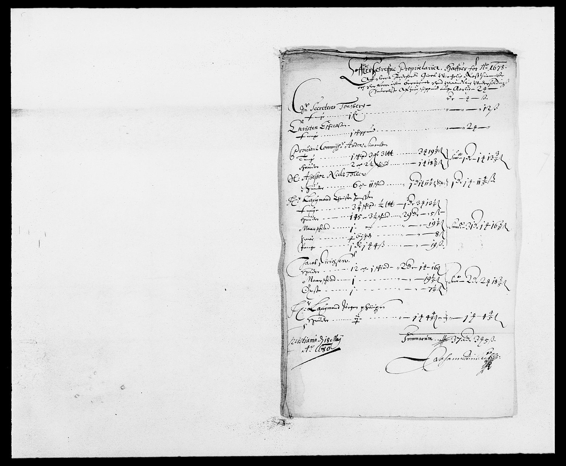 RA, Rentekammeret inntil 1814, Reviderte regnskaper, Fogderegnskap, R13/L0816: Fogderegnskap Solør, Odal og Østerdal, 1679, s. 456