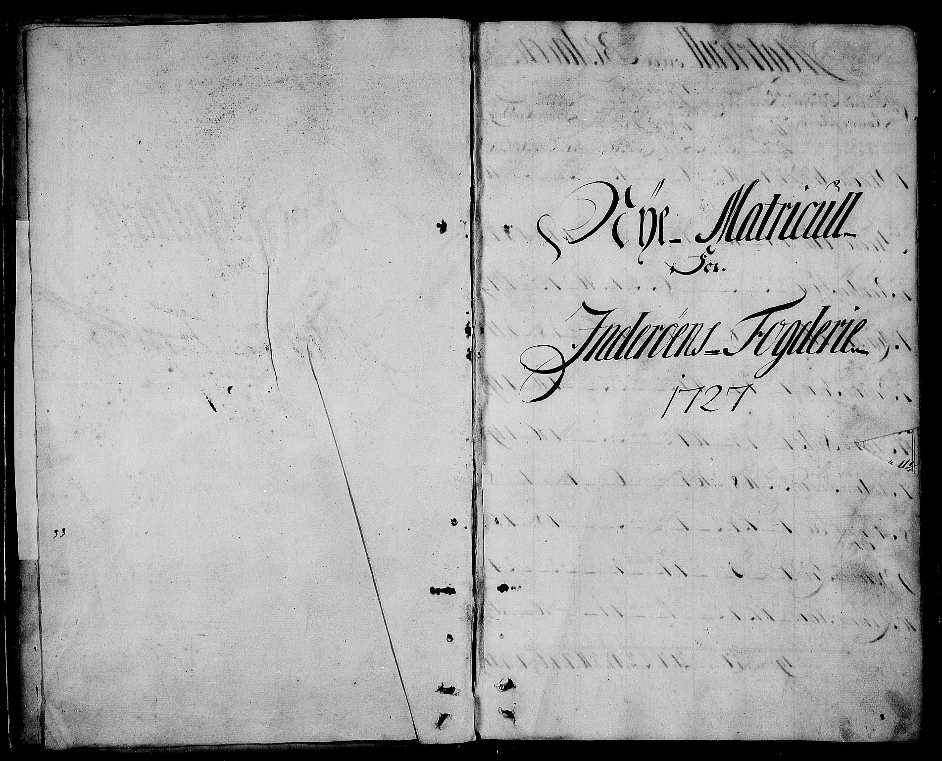RA, Rentekammeret inntil 1814, Realistisk ordnet avdeling, N/Nb/Nbf/L0167: Inderøy matrikkelprotokoll, 1723, s. upaginert