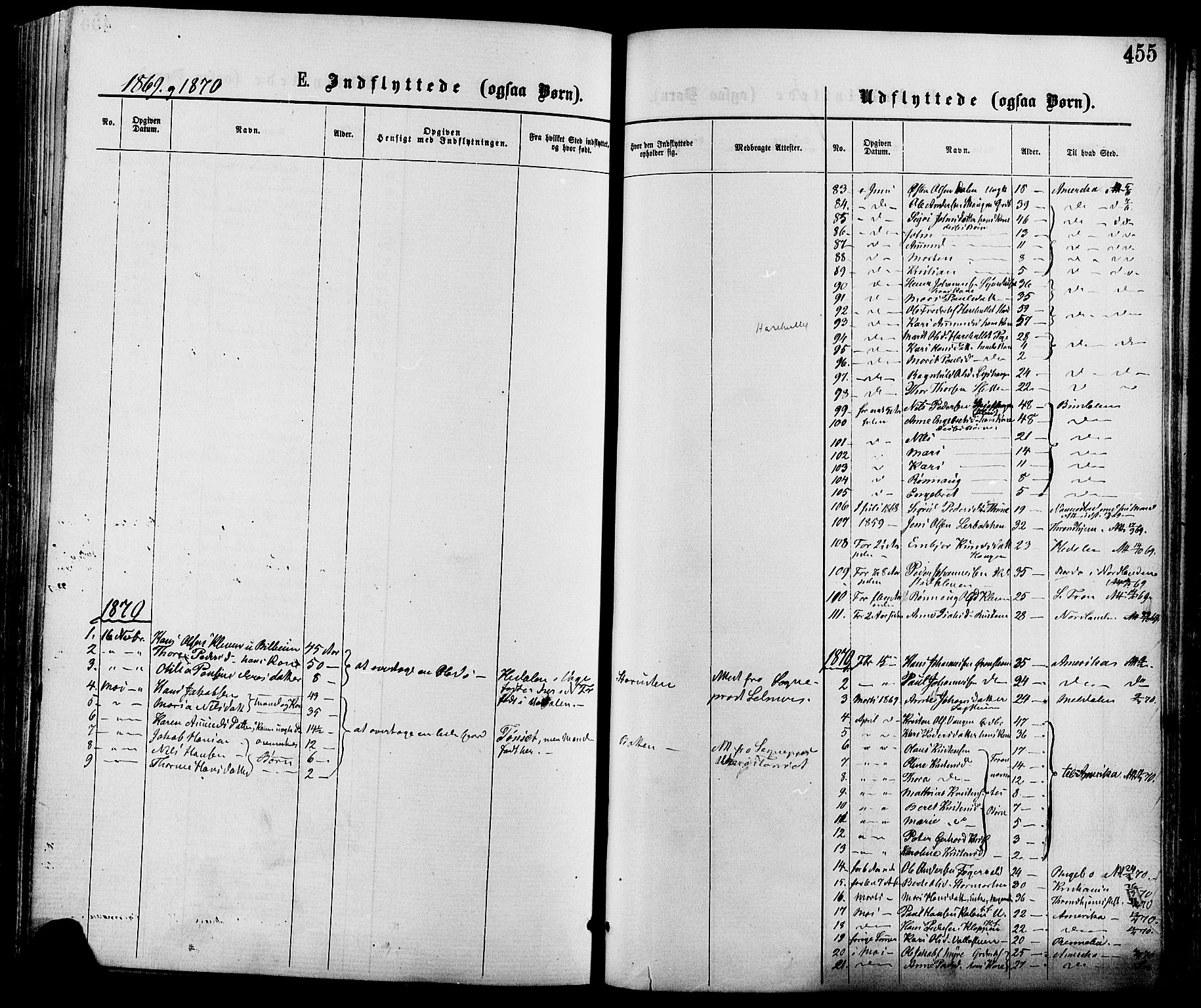 SAH, Nord-Fron prestekontor, Ministerialbok nr. 2, 1865-1883, s. 455