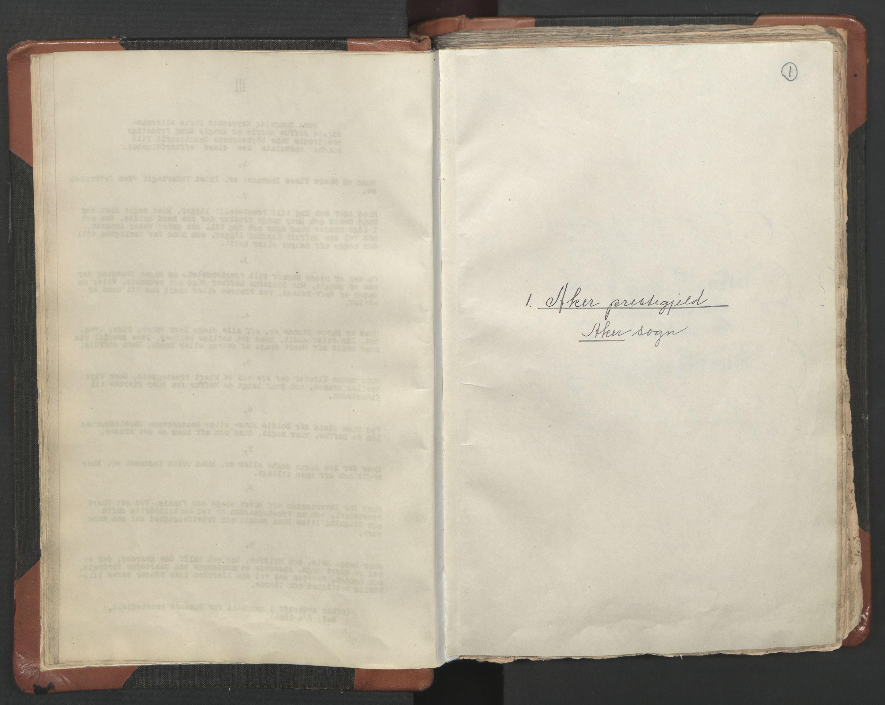 RA, Sogneprestenes manntall 1664-1666, nr. 9: Bragernes prosti, 1664-1666, s. 1