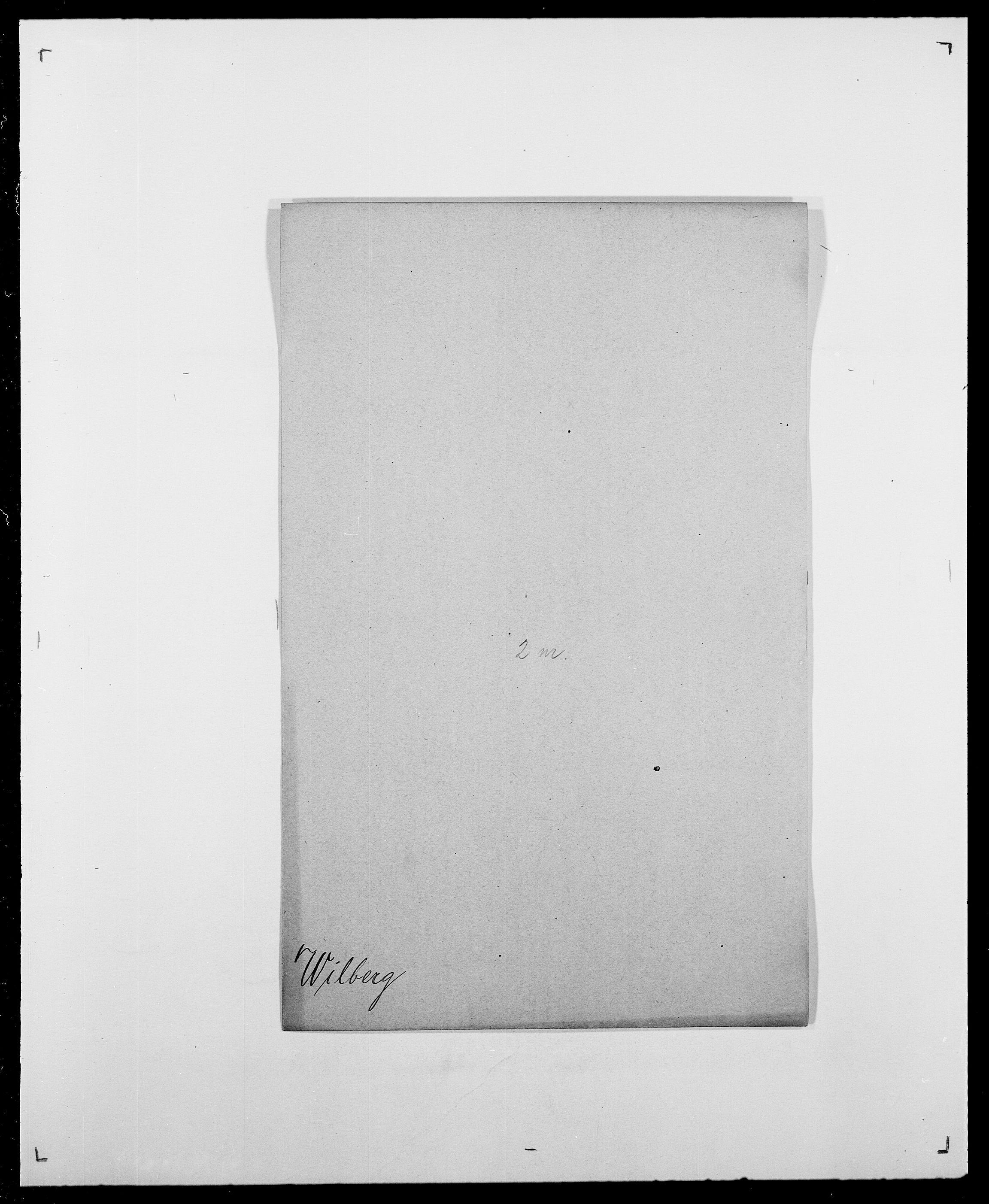 SAO, Delgobe, Charles Antoine - samling, D/Da/L0042: Vilain - Wulf, Wulff, se også Wolf, s. 5
