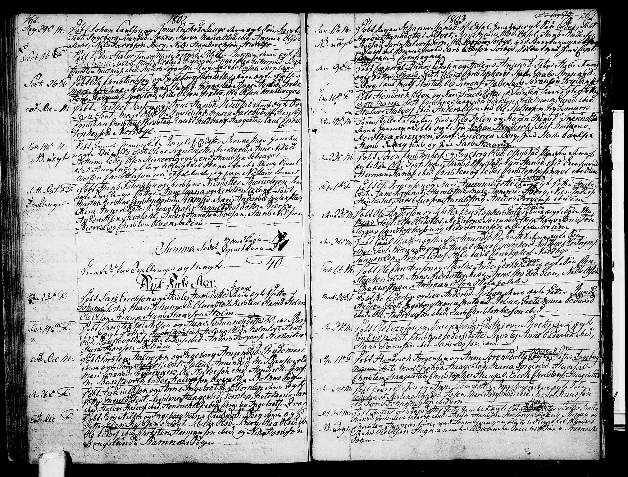 SAKO, Våle kirkebøker, F/Fa/L0005: Ministerialbok nr. I 5, 1773-1808, s. 162-163