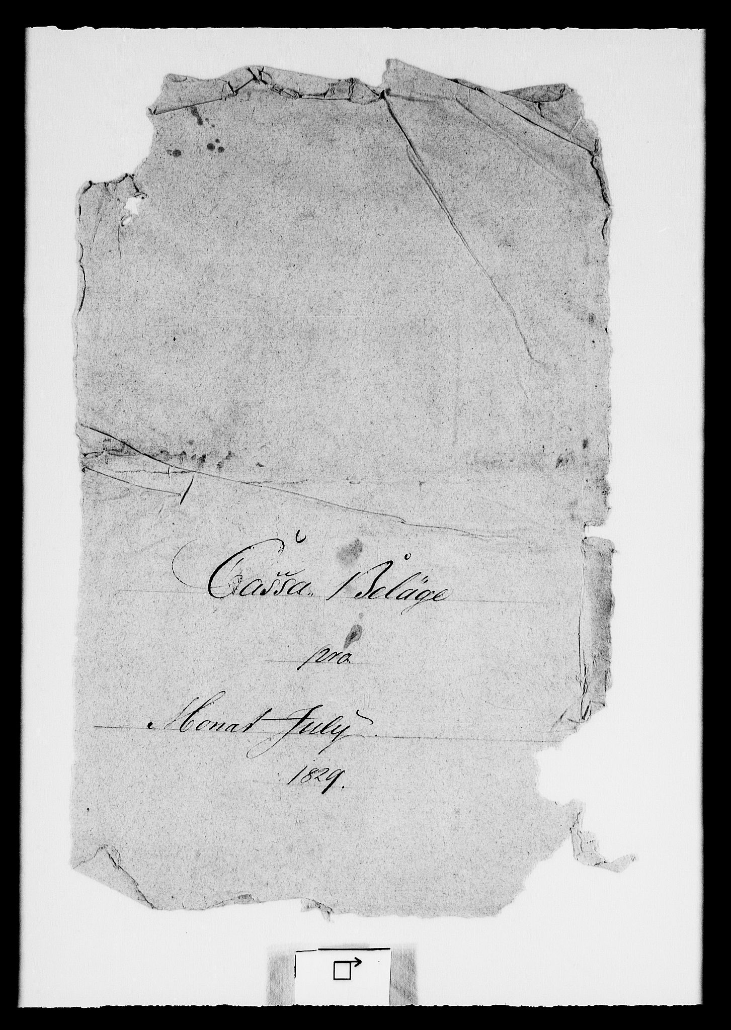 RA, Modums Blaafarveværk, G/Gd/Gdc/L0233, 1829-1831, s. 2