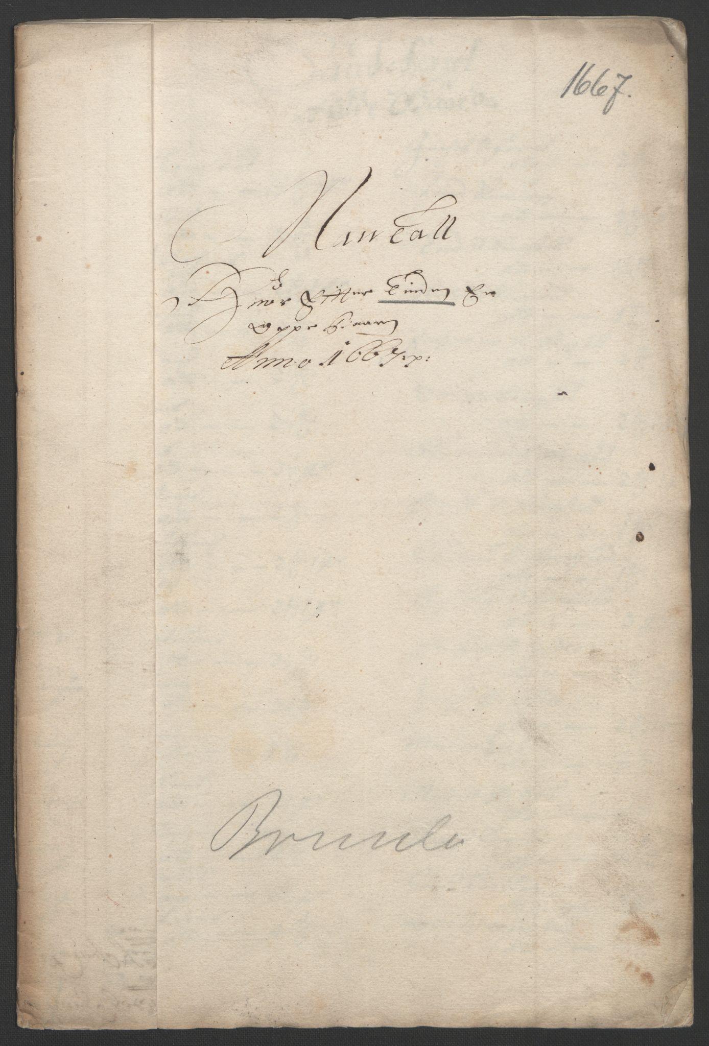 RA, Rentekammeret inntil 1814, Reviderte regnskaper, Fogderegnskap, R33/L1964: Fogderegnskap Larvik grevskap, 1665-1668, s. 90