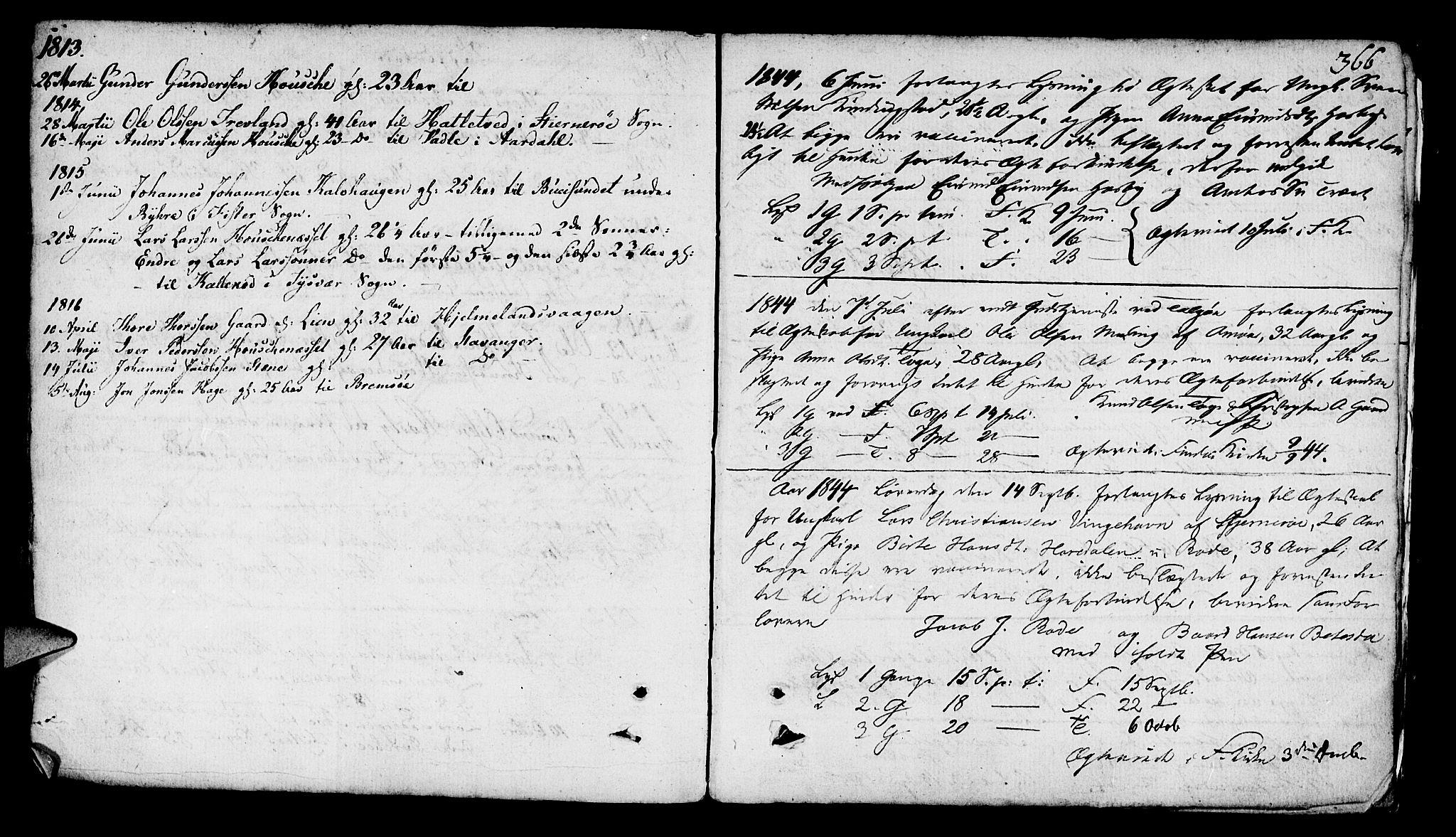 SAST, Finnøy sokneprestkontor, H/Ha/Haa/L0005: Ministerialbok nr. A 5, 1773-1816, s. 366