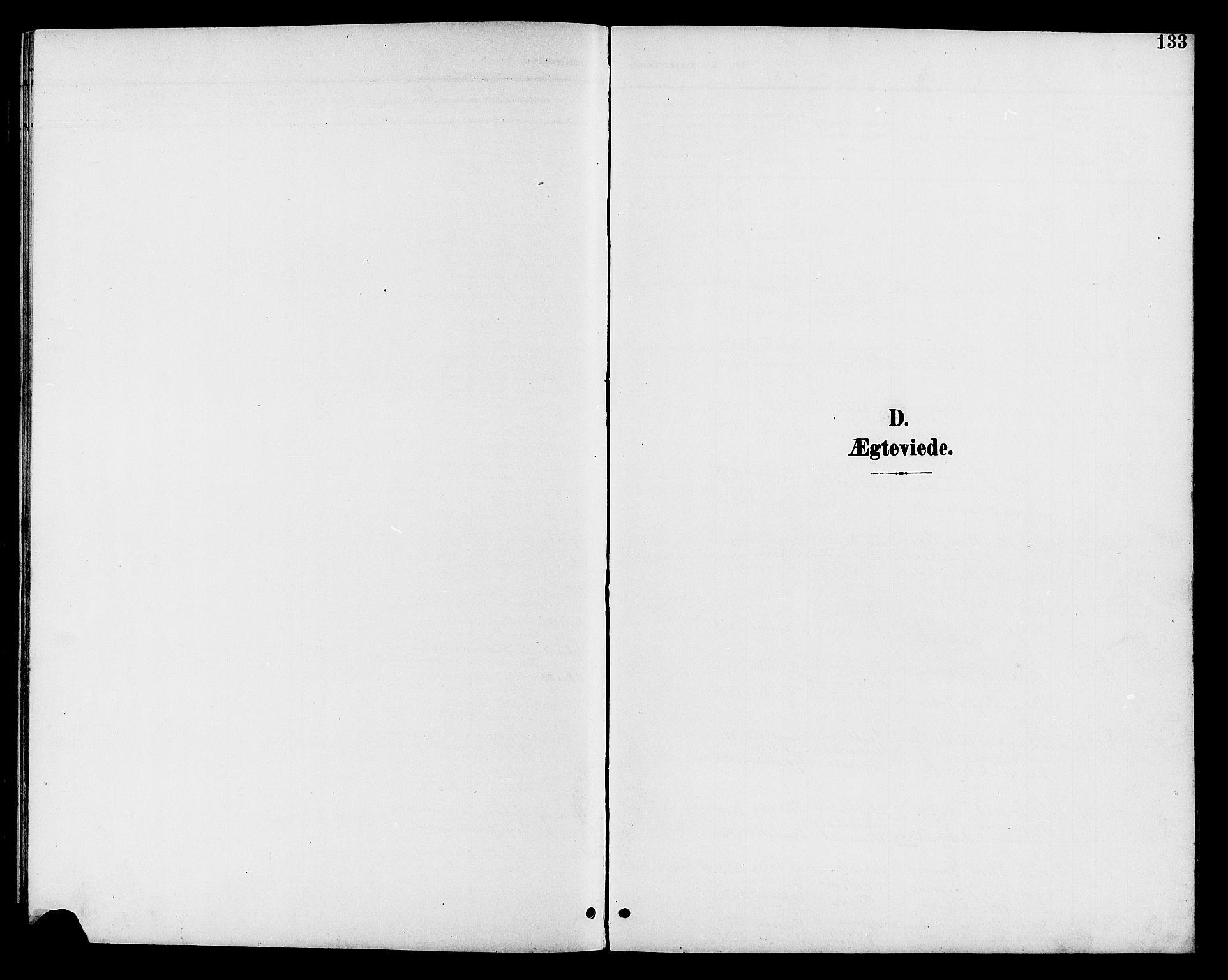 SAH, Vestre Toten prestekontor, Klokkerbok nr. 11, 1901-1911, s. 133