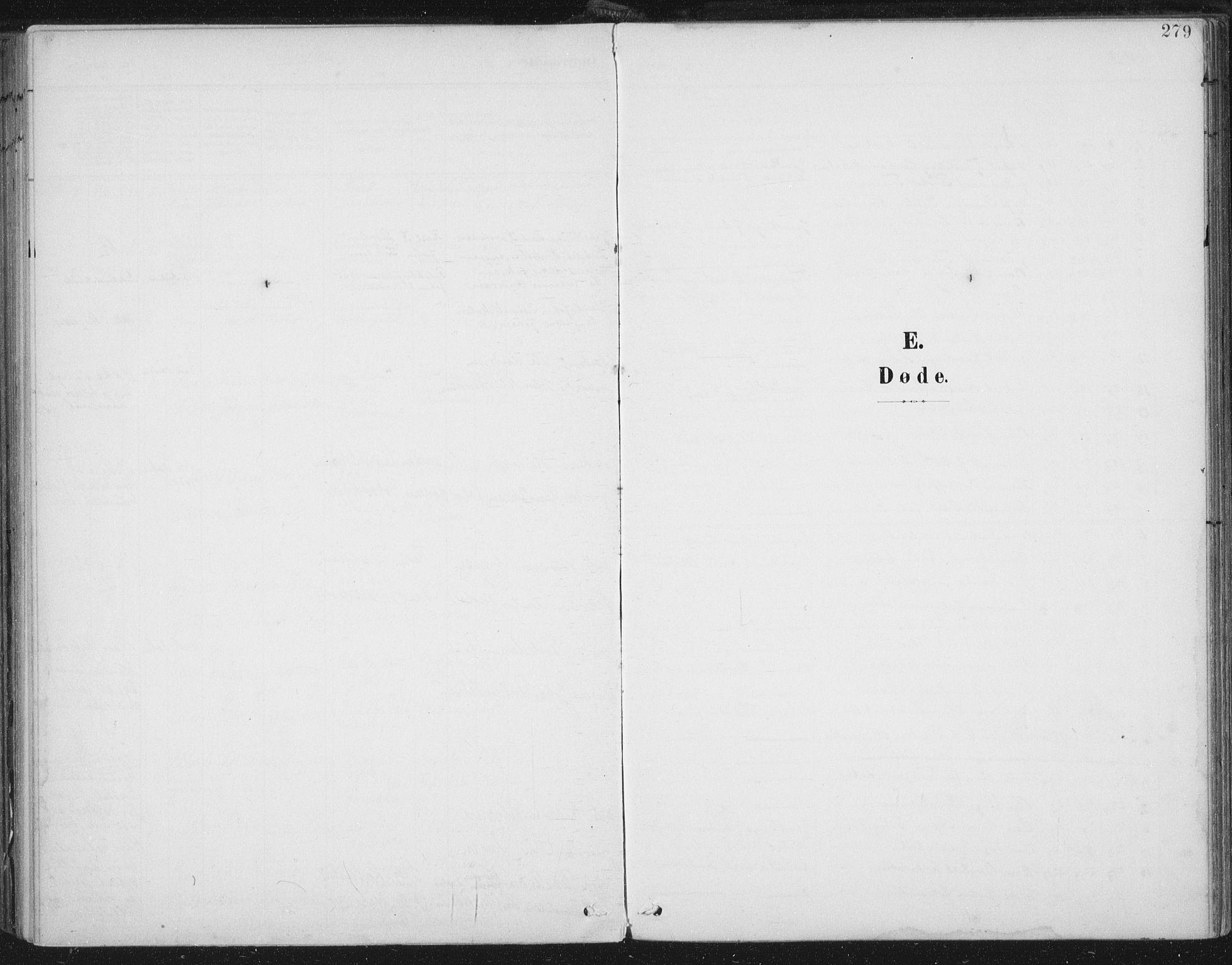SAT, Ministerialprotokoller, klokkerbøker og fødselsregistre - Nord-Trøndelag, 723/L0246: Ministerialbok nr. 723A15, 1900-1917, s. 279