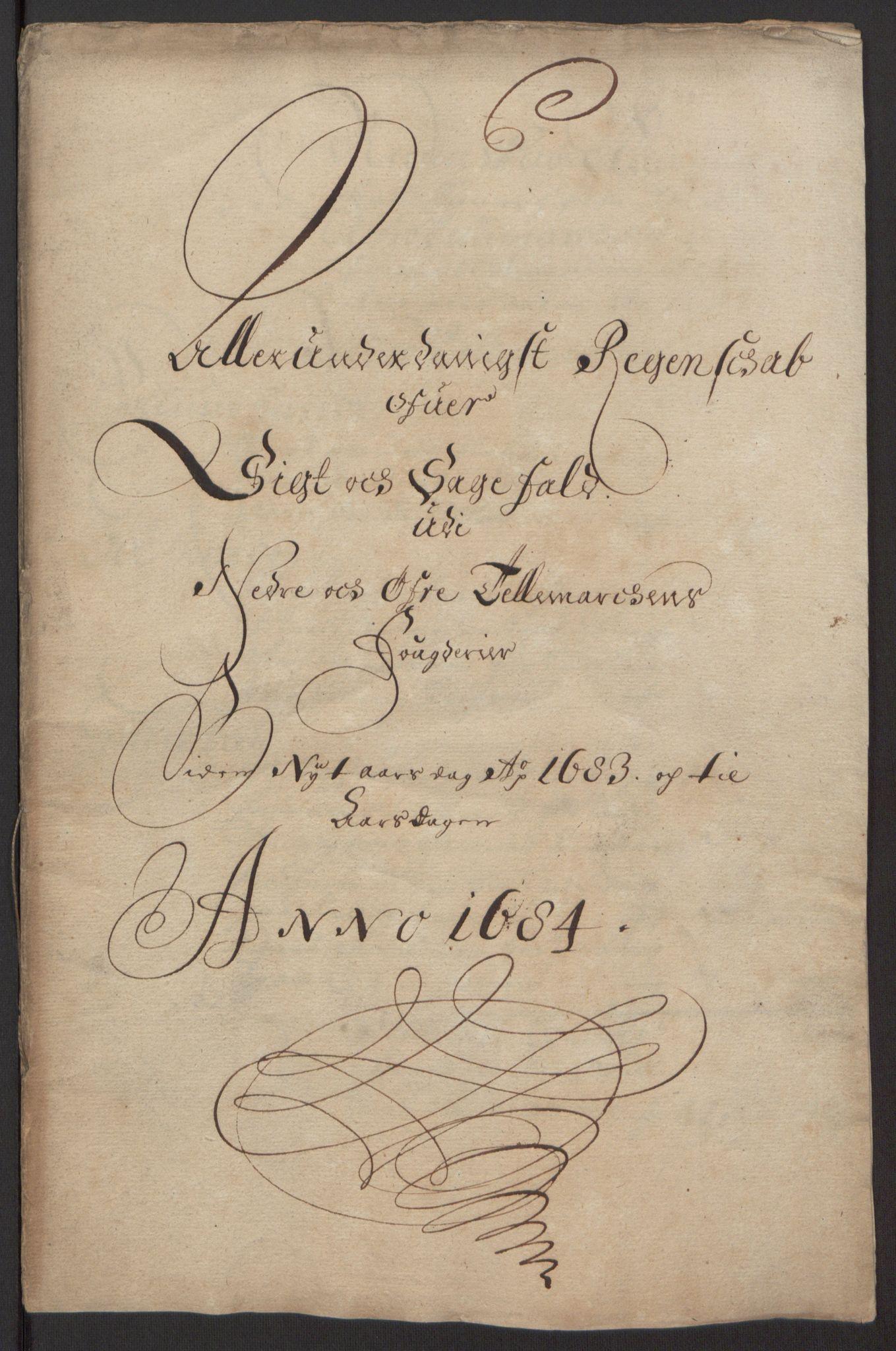 RA, Rentekammeret inntil 1814, Reviderte regnskaper, Fogderegnskap, R35/L2081: Fogderegnskap Øvre og Nedre Telemark, 1680-1684, s. 62