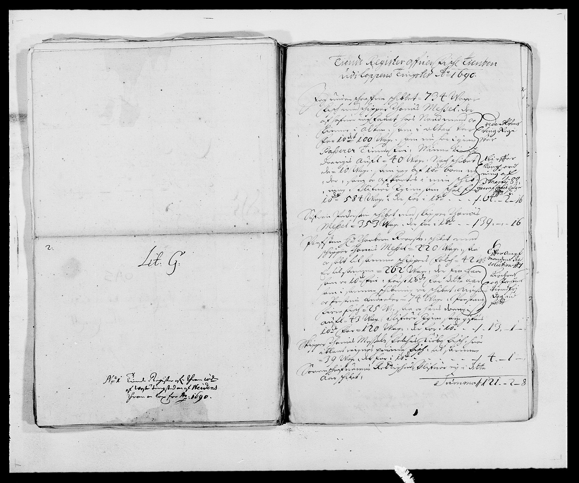 RA, Rentekammeret inntil 1814, Reviderte regnskaper, Fogderegnskap, R69/L4850: Fogderegnskap Finnmark/Vardøhus, 1680-1690, s. 265