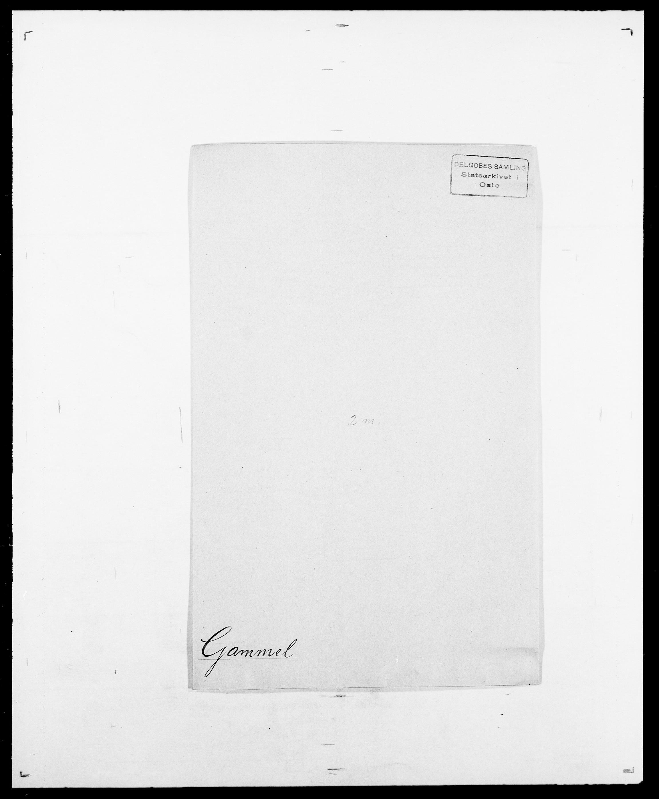 SAO, Delgobe, Charles Antoine - samling, D/Da/L0013: Forbos - Geving, s. 464