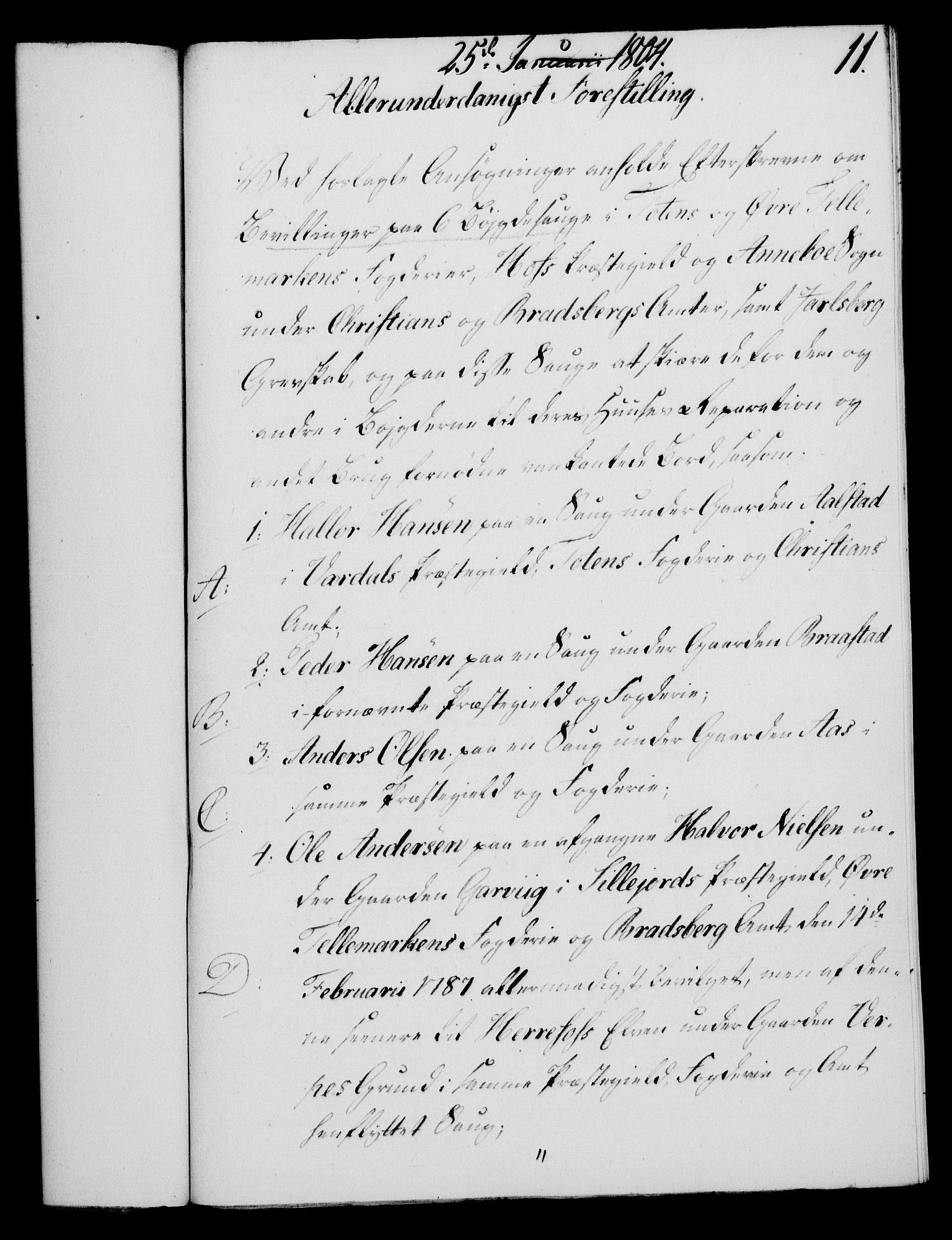 RA, Rentekammeret, Kammerkanselliet, G/Gf/Gfa/L0086: Norsk relasjons- og resolusjonsprotokoll (merket RK 52.86), 1804, s. 119