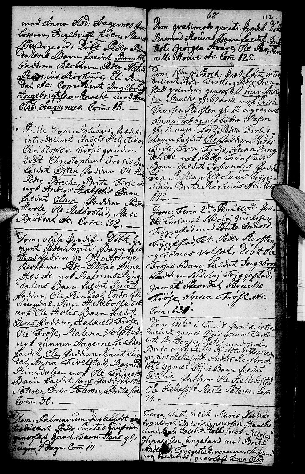 SAT, Ministerialprotokoller, klokkerbøker og fødselsregistre - Møre og Romsdal, 519/L0243: Ministerialbok nr. 519A02, 1760-1770, s. 112