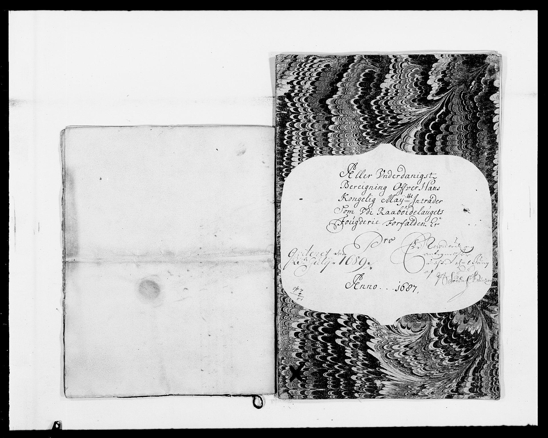 RA, Rentekammeret inntil 1814, Reviderte regnskaper, Fogderegnskap, R40/L2440: Fogderegnskap Råbyggelag, 1686-1687, s. 112