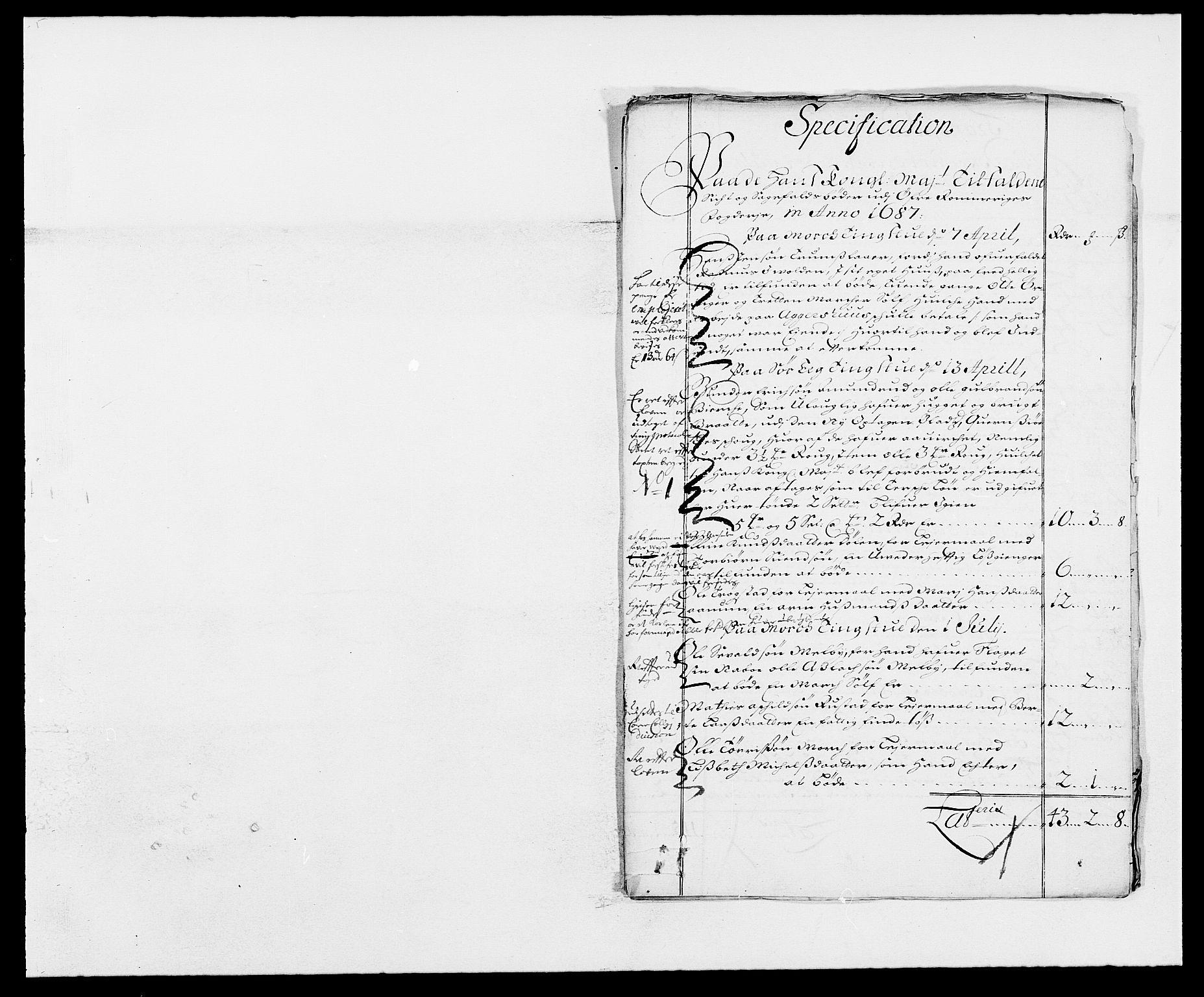 RA, Rentekammeret inntil 1814, Reviderte regnskaper, Fogderegnskap, R12/L0700: Fogderegnskap Øvre Romerike, 1687-1688, s. 51
