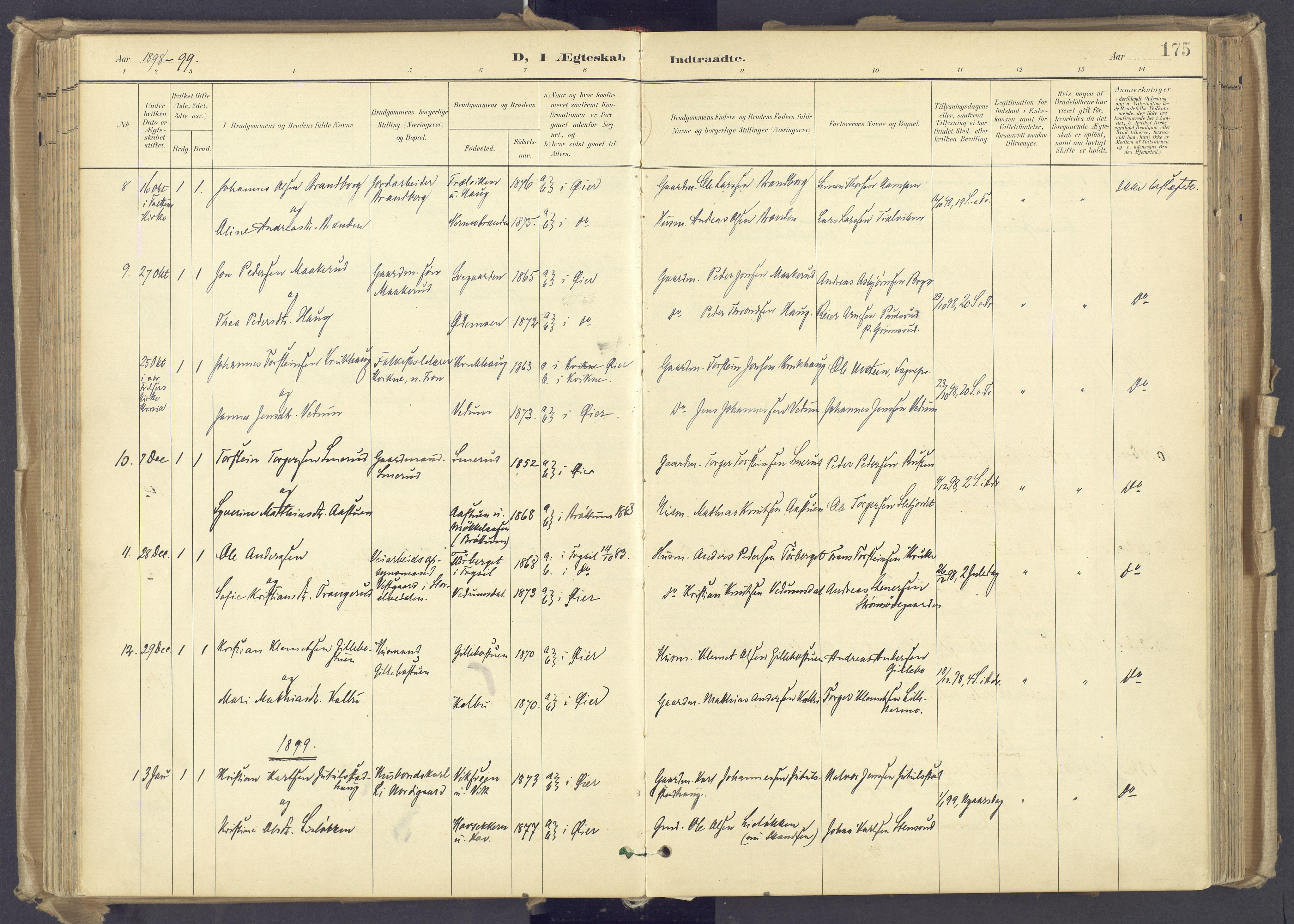 SAH, Øyer prestekontor, Ministerialbok nr. 12, 1897-1920, s. 175