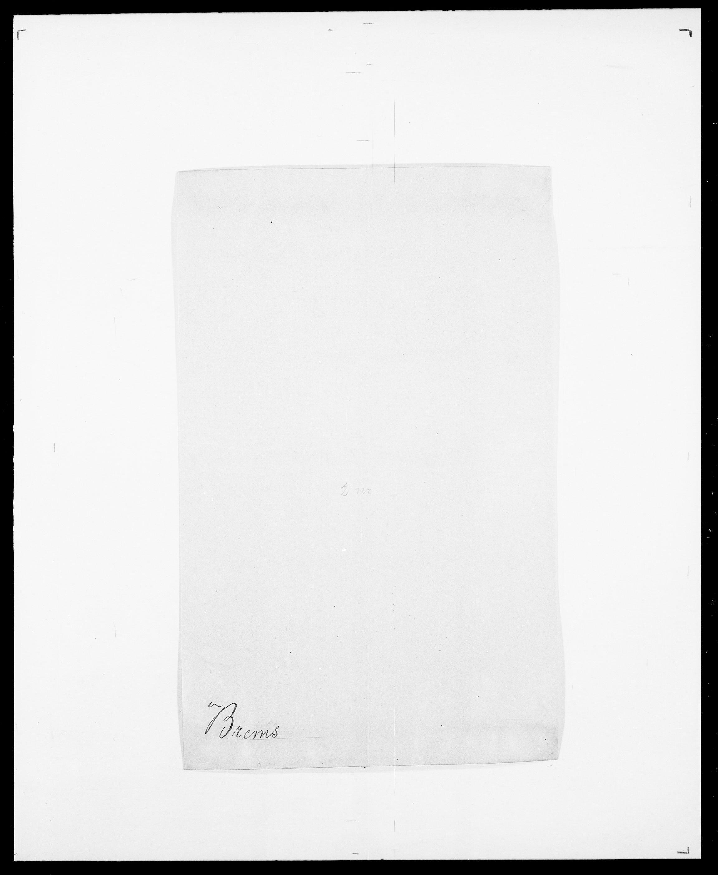 SAO, Delgobe, Charles Antoine - samling, D/Da/L0006: Brambani - Brønø, s. 311