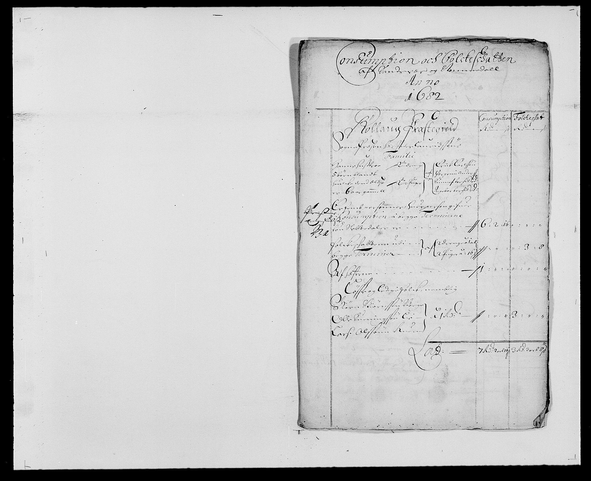 RA, Rentekammeret inntil 1814, Reviderte regnskaper, Fogderegnskap, R24/L1570: Fogderegnskap Numedal og Sandsvær, 1679-1686, s. 162