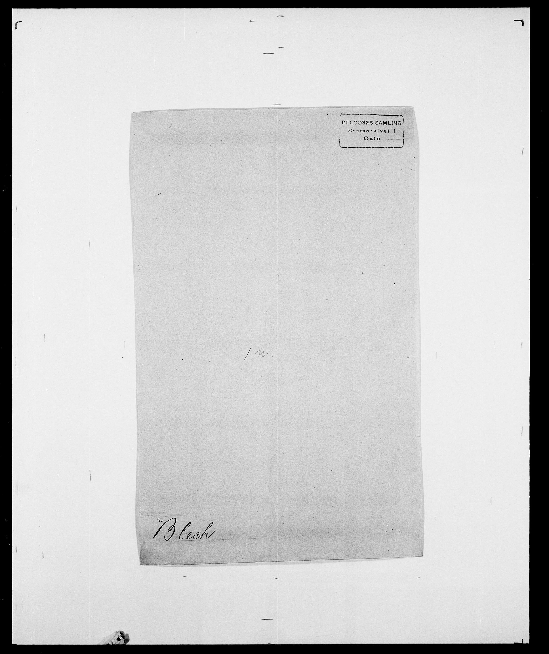 SAO, Delgobe, Charles Antoine - samling, D/Da/L0004: Bergendahl - Blære, s. 547