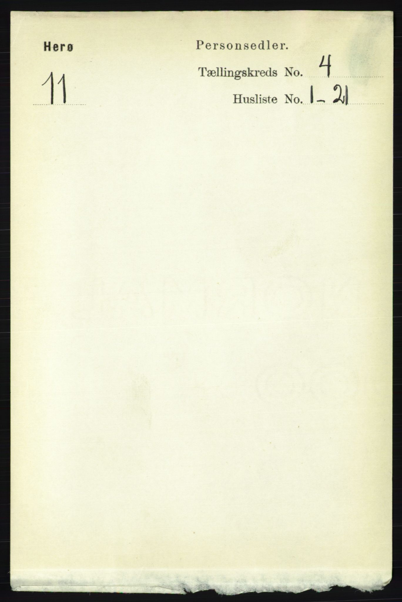 RA, Folketelling 1891 for 1818 Herøy herred, 1891, s. 921