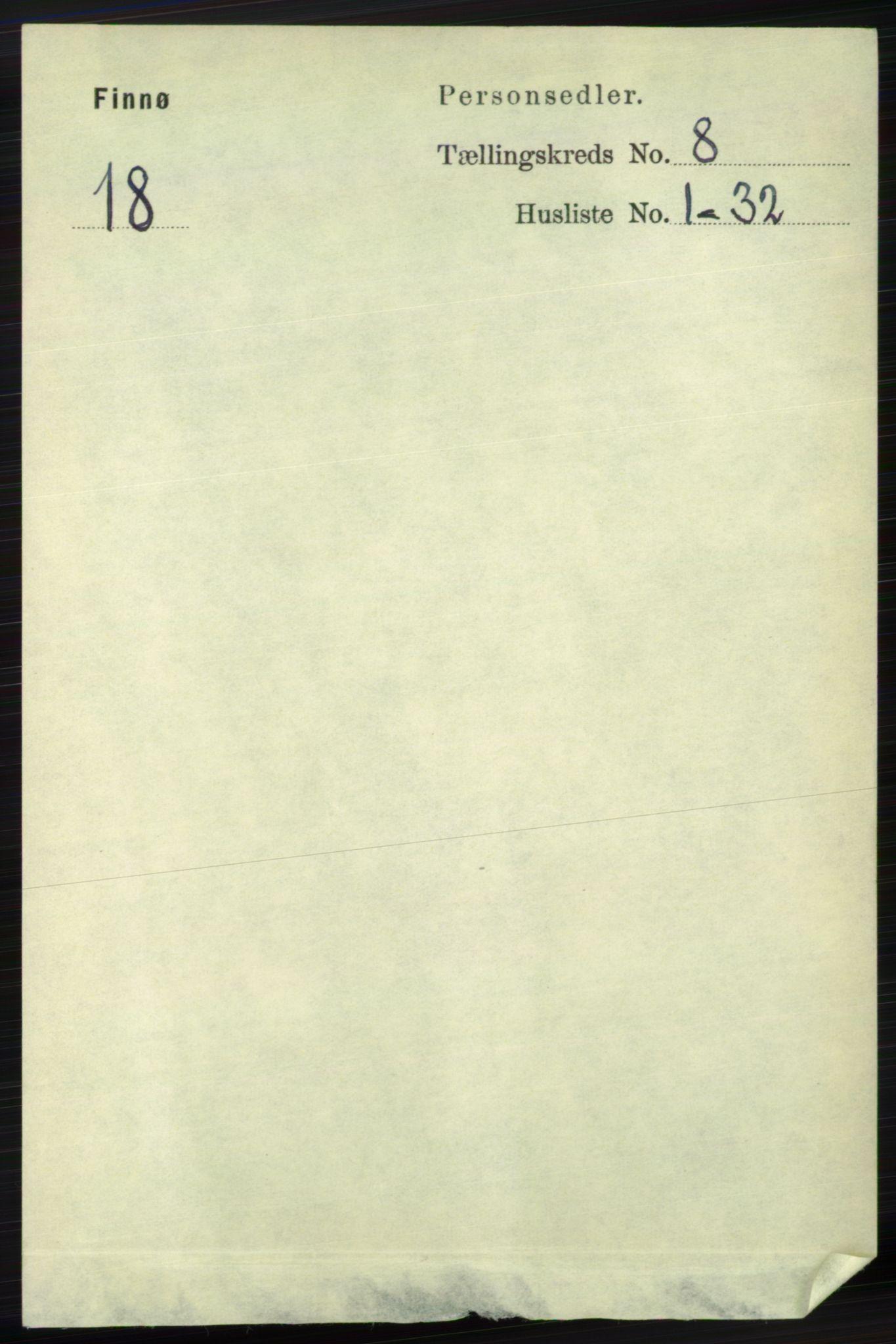 RA, Folketelling 1891 for 1141 Finnøy herred, 1891, s. 1683