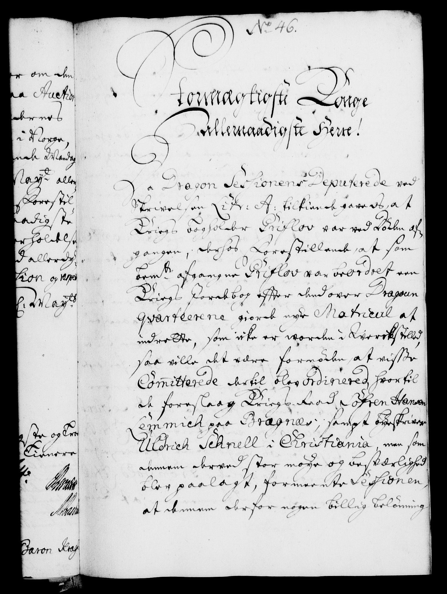RA, Rentekammeret, Kammerkanselliet, G/Gf/Gfa/L0005: Norsk relasjons- og resolusjonsprotokoll (merket RK 52.5), 1722, s. 224
