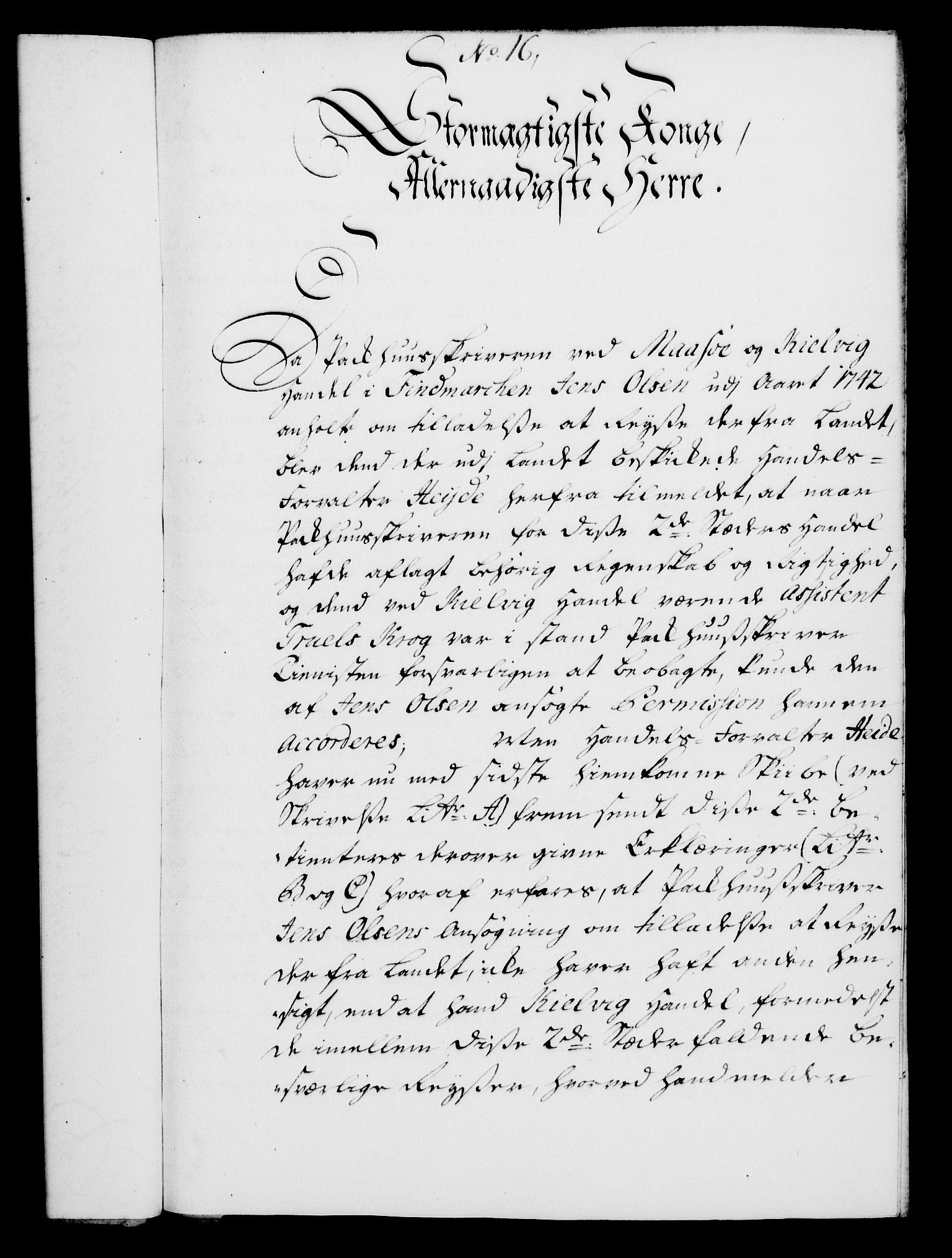 RA, Rentekammeret, Kammerkanselliet, G/Gf/Gfa/L0027: Norsk relasjons- og resolusjonsprotokoll (merket RK 52.27), 1744, s. 107