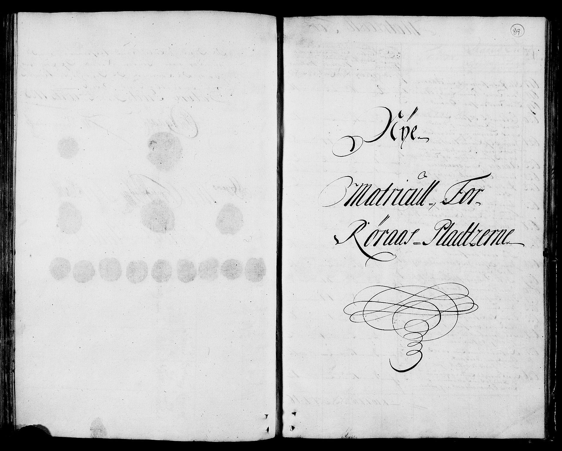 RA, Rentekammeret inntil 1814, Realistisk ordnet avdeling, N/Nb/Nbf/L0159: Gauldal matrikkelprotokoll, 1723, s. 88b-89a