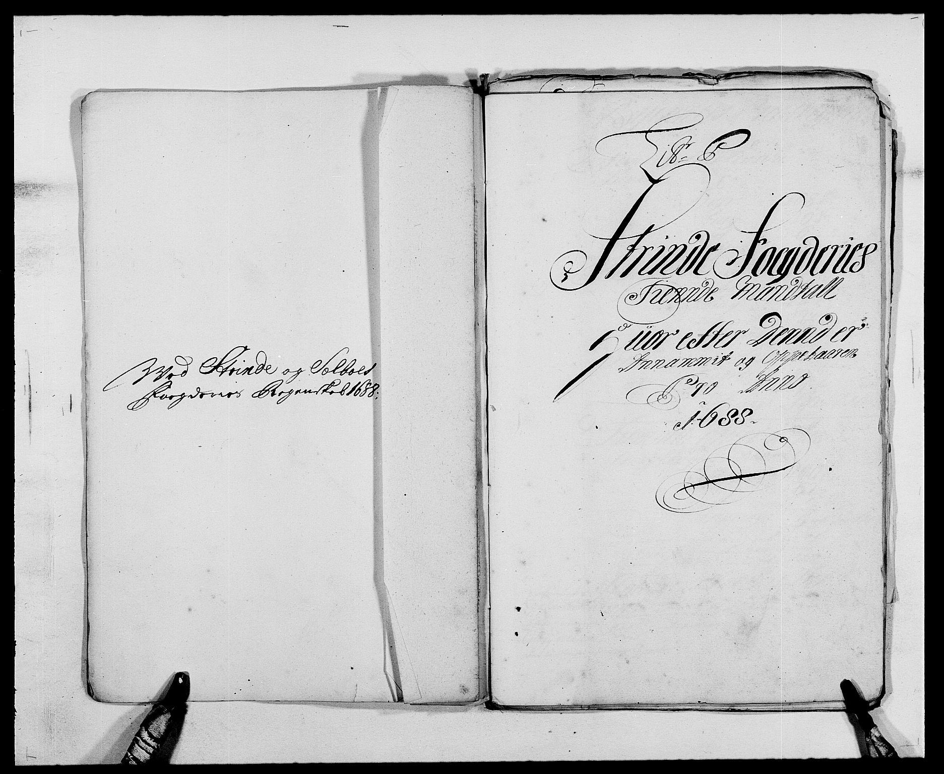 RA, Rentekammeret inntil 1814, Reviderte regnskaper, Fogderegnskap, R61/L4101: Fogderegnskap Strinda og Selbu, 1687-1688, s. 241