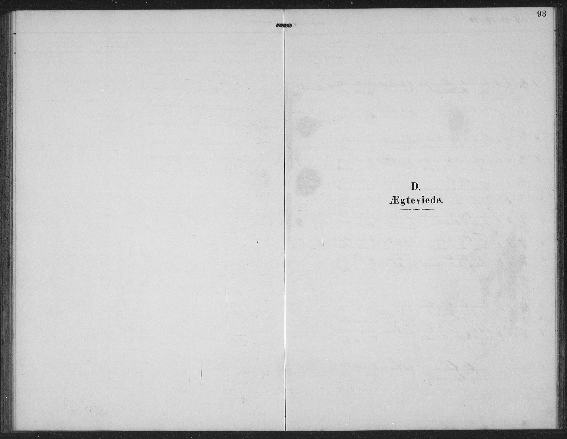 SAKO, Seljord kirkebøker, G/Gc/L0003: Klokkerbok nr. III 3, 1887-1926, s. 93