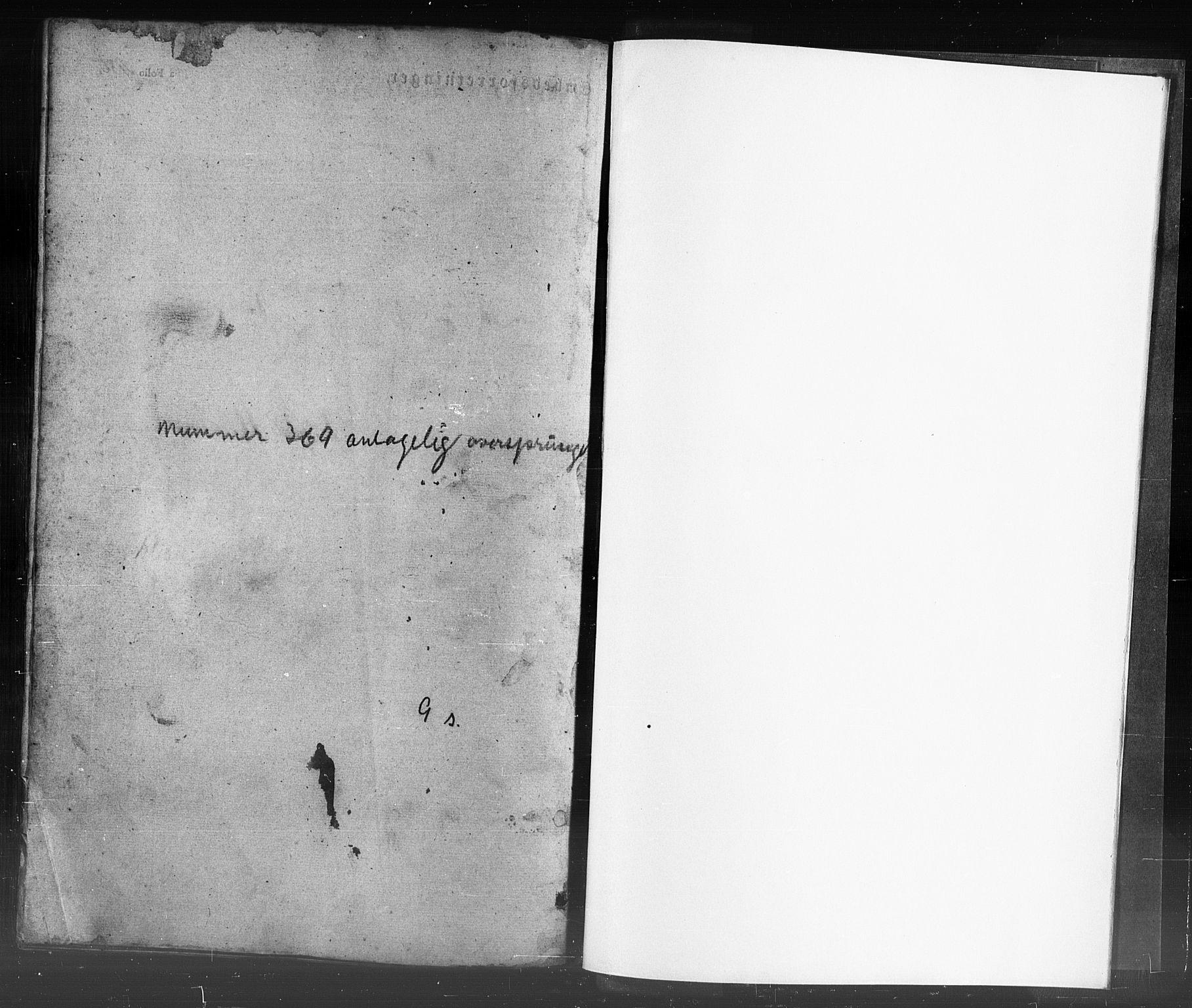 SAST, Domkirken sokneprestkontor, 30/30BB/L0009: Klokkerbok nr. B 9, 1850-1858