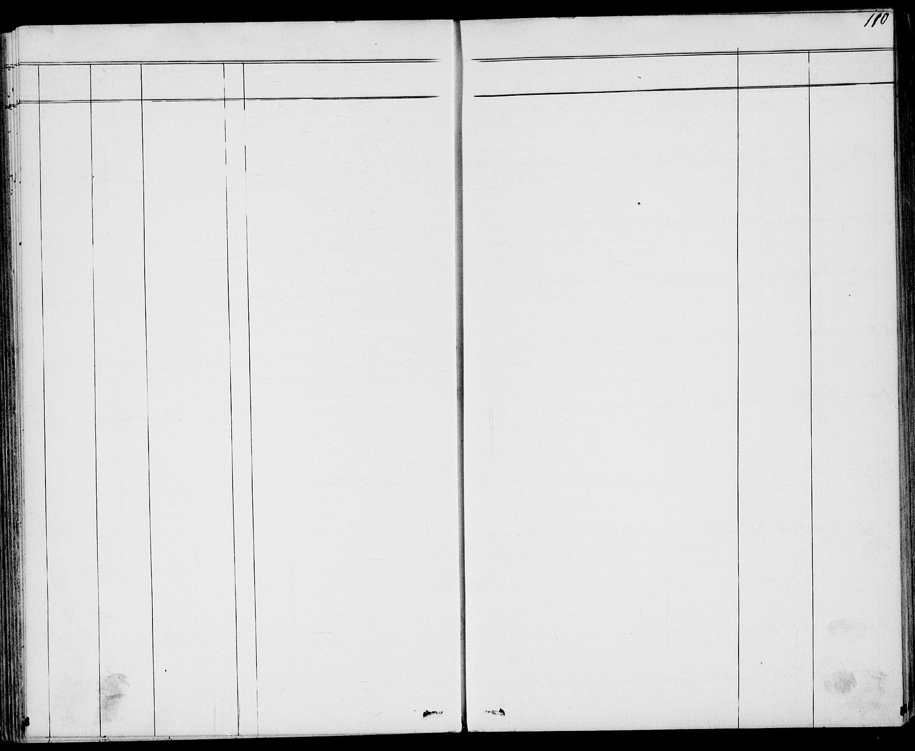 SAKO, Drangedal kirkebøker, G/Gb/L0001: Klokkerbok nr. II 1, 1856-1894, s. 110