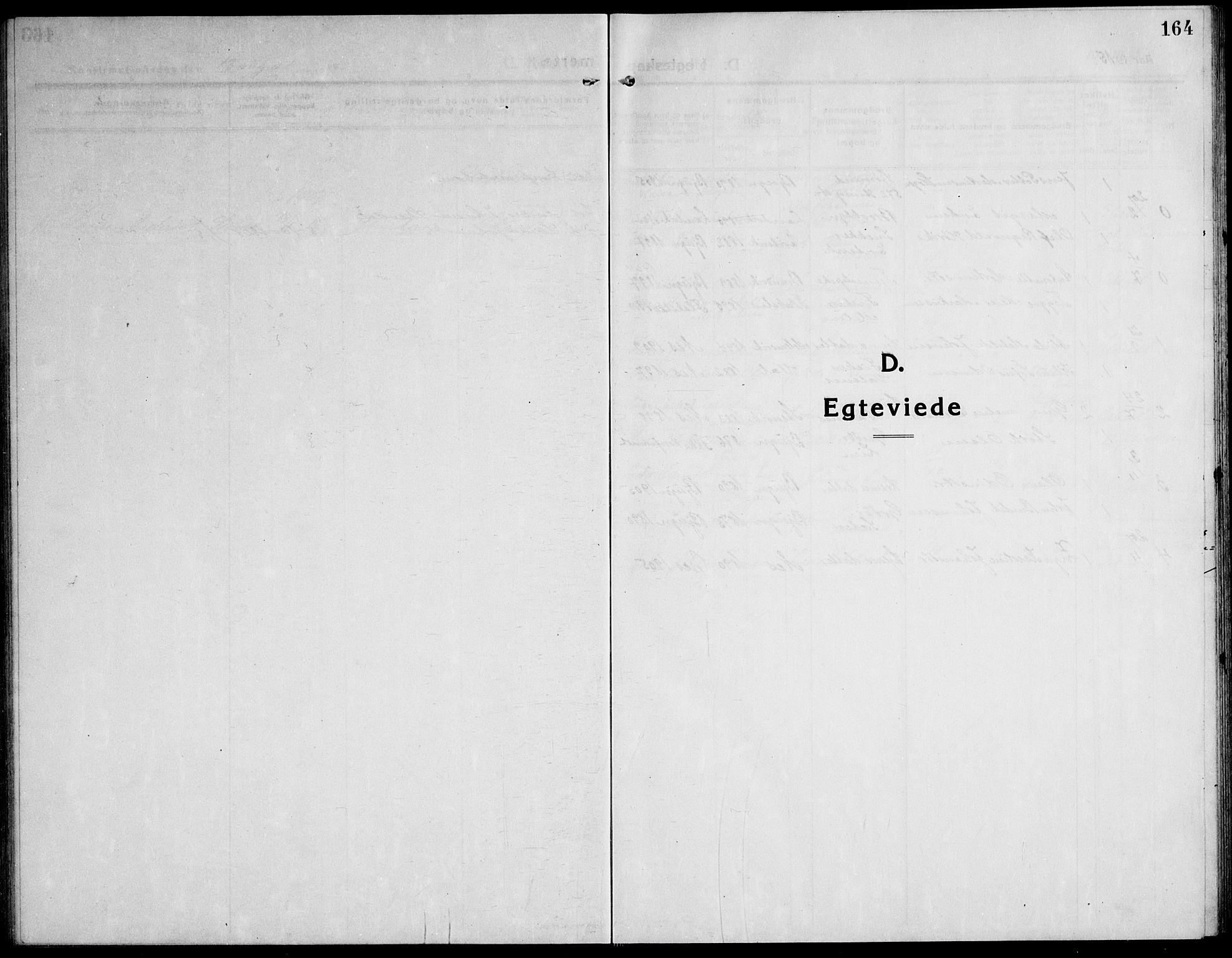 SAT, Ministerialprotokoller, klokkerbøker og fødselsregistre - Sør-Trøndelag, 651/L0648: Klokkerbok nr. 651C02, 1915-1945, s. 164