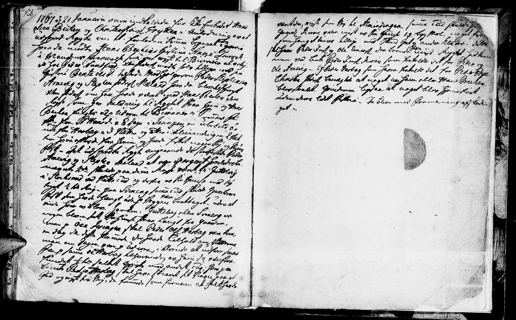 SAT, Ministerialprotokoller, klokkerbøker og fødselsregistre - Sør-Trøndelag, 655/L0672: Ministerialbok nr. 655A01, 1750-1779, s. 326-327