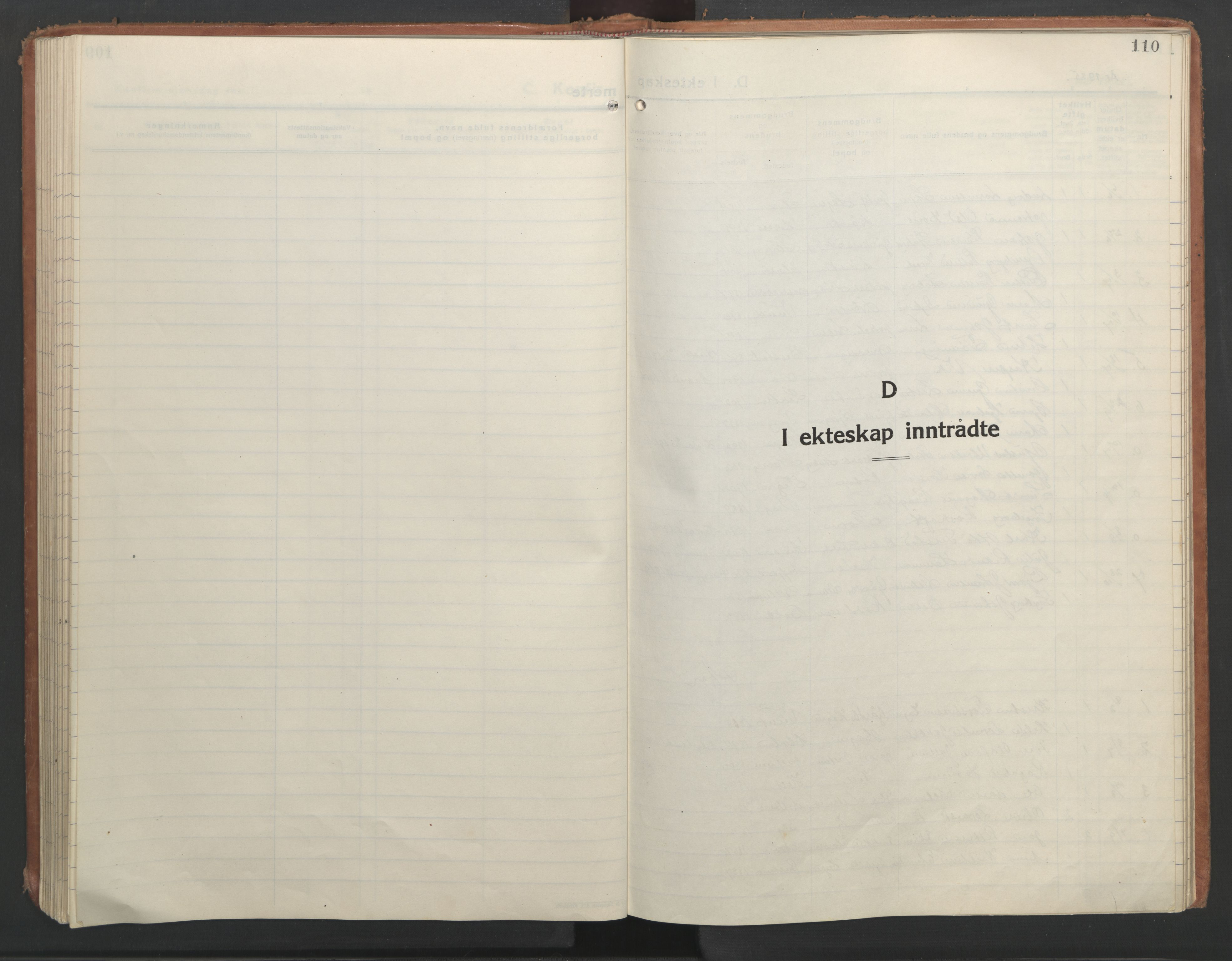 SAT, Ministerialprotokoller, klokkerbøker og fødselsregistre - Nord-Trøndelag, 710/L0097: Klokkerbok nr. 710C02, 1925-1955, s. 110