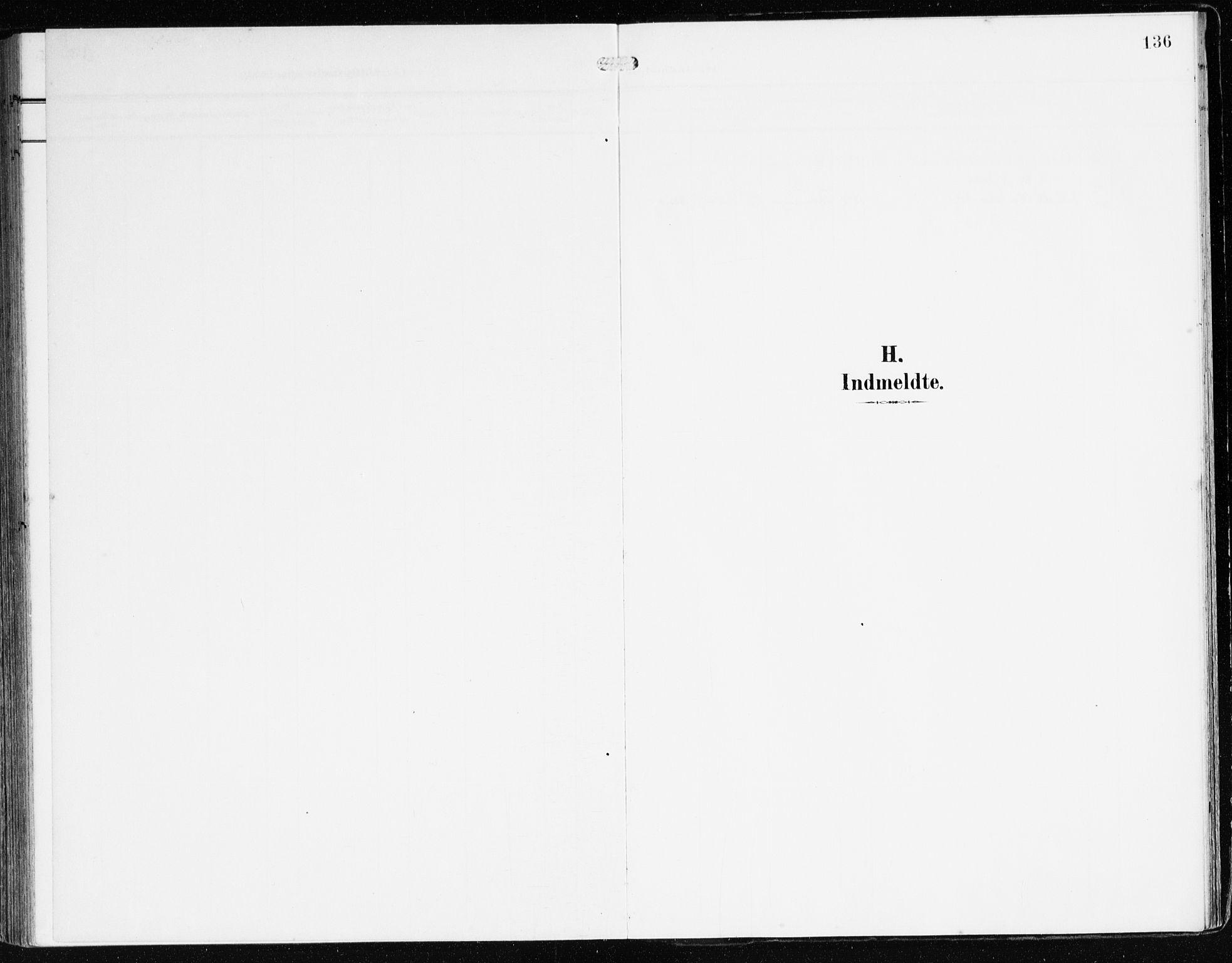 SAB, Bremanger Sokneprestembete, H/Haa: Ministerialbok nr. B 3, 1908-1925, s. 136