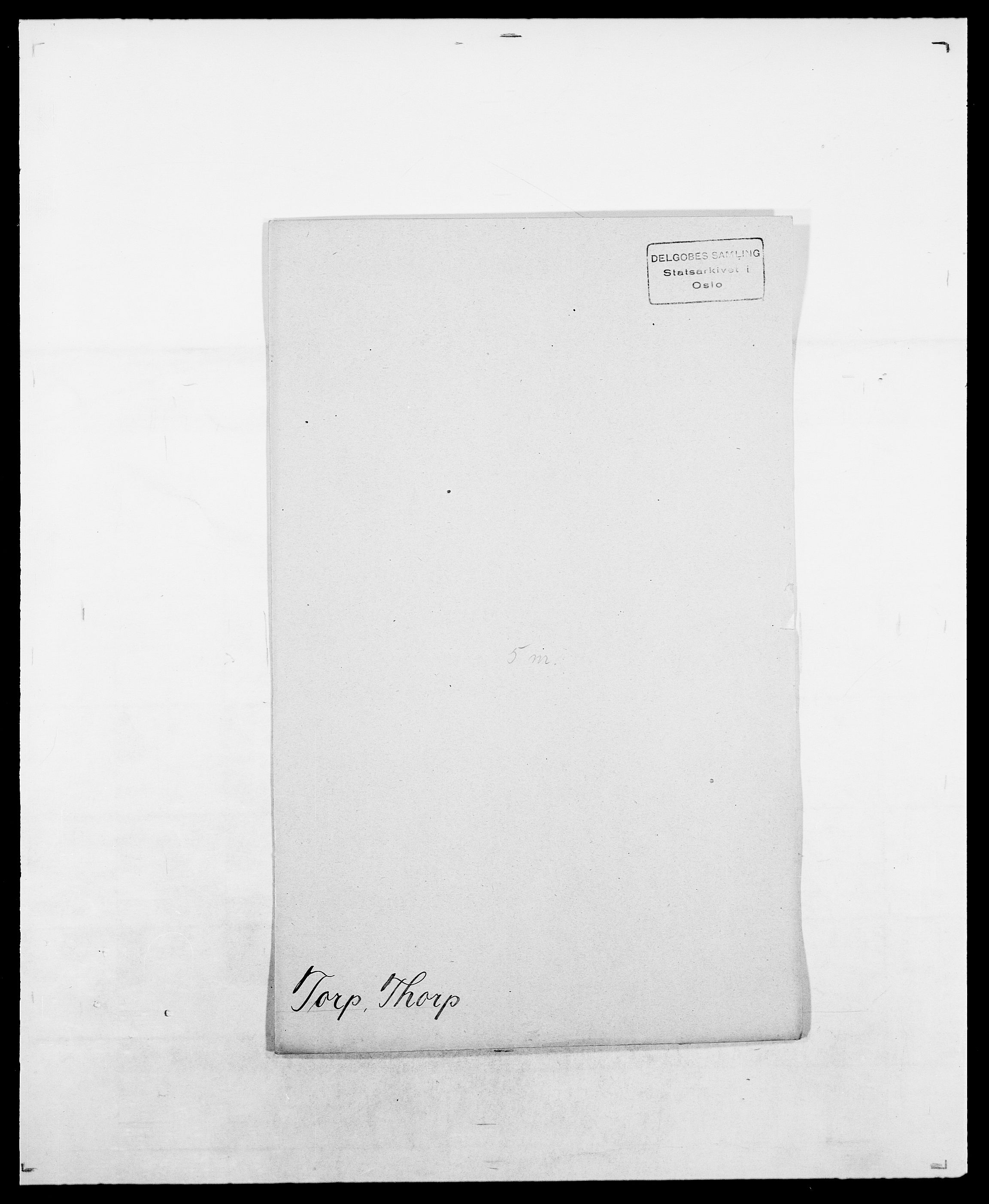 SAO, Delgobe, Charles Antoine - samling, D/Da/L0039: Thorsen - Urup, s. 247