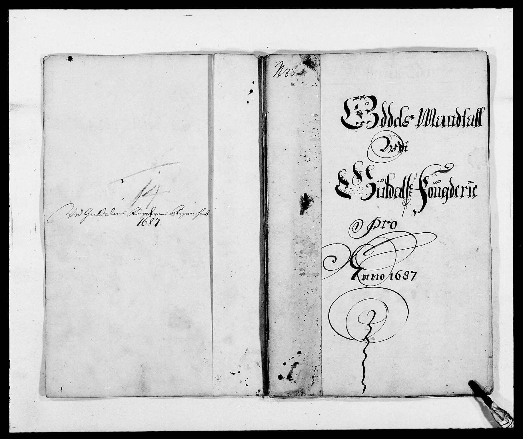 RA, Rentekammeret inntil 1814, Reviderte regnskaper, Fogderegnskap, R59/L3939: Fogderegnskap Gauldal, 1687-1688, s. 61