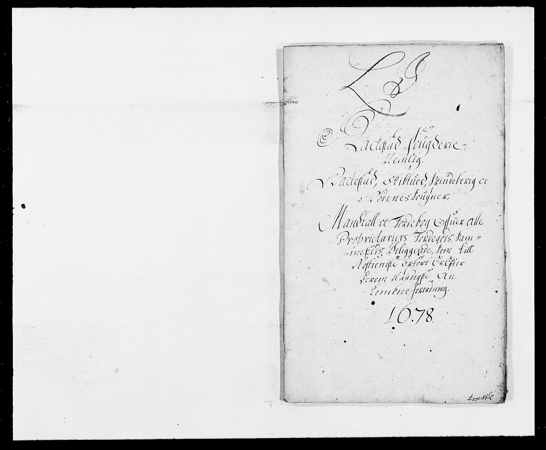 RA, Rentekammeret inntil 1814, Reviderte regnskaper, Fogderegnskap, R05/L0271: Fogderegnskap Rakkestad, 1678-1679, s. 210
