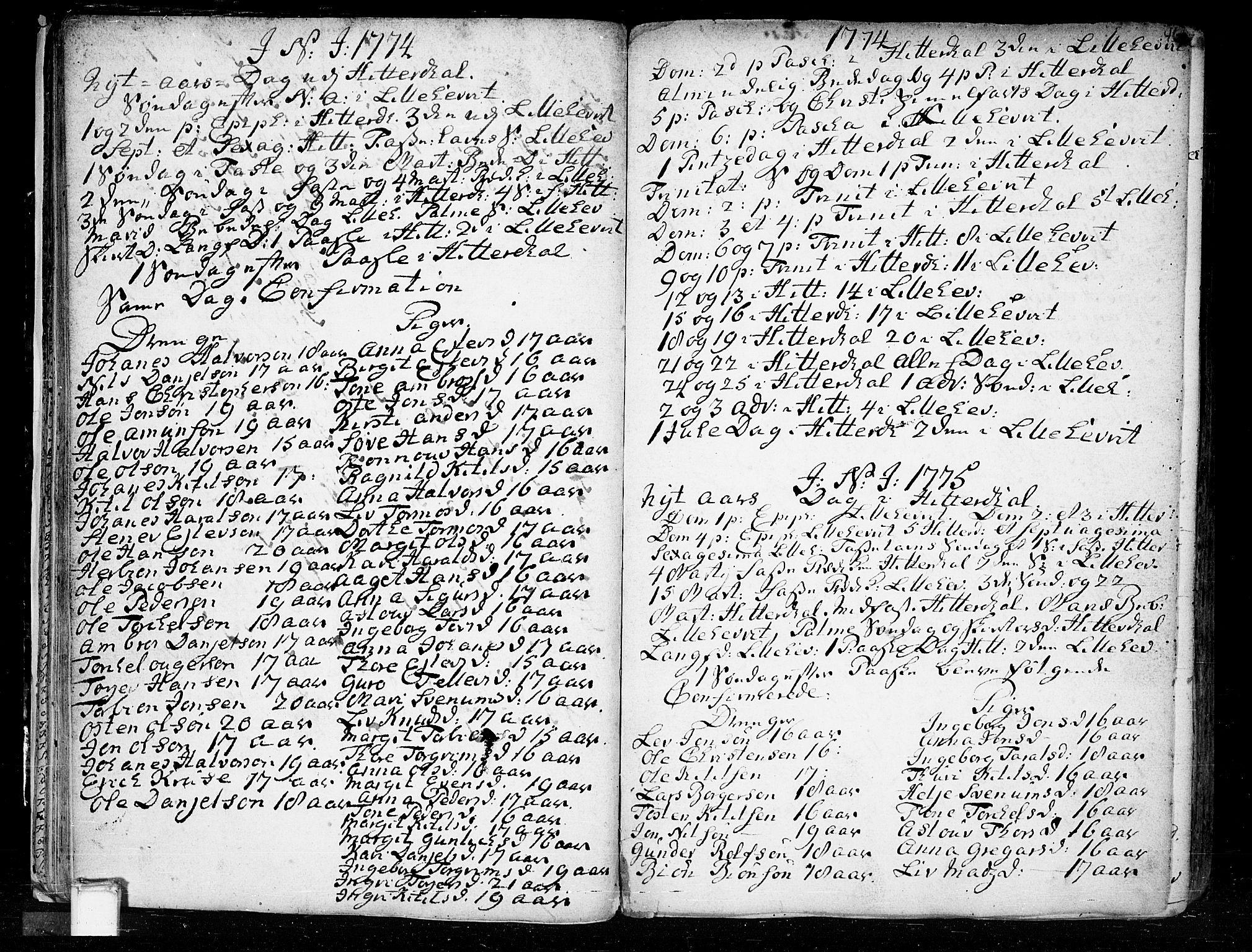 SAKO, Heddal kirkebøker, F/Fa/L0003: Ministerialbok nr. I 3, 1723-1783, s. 46