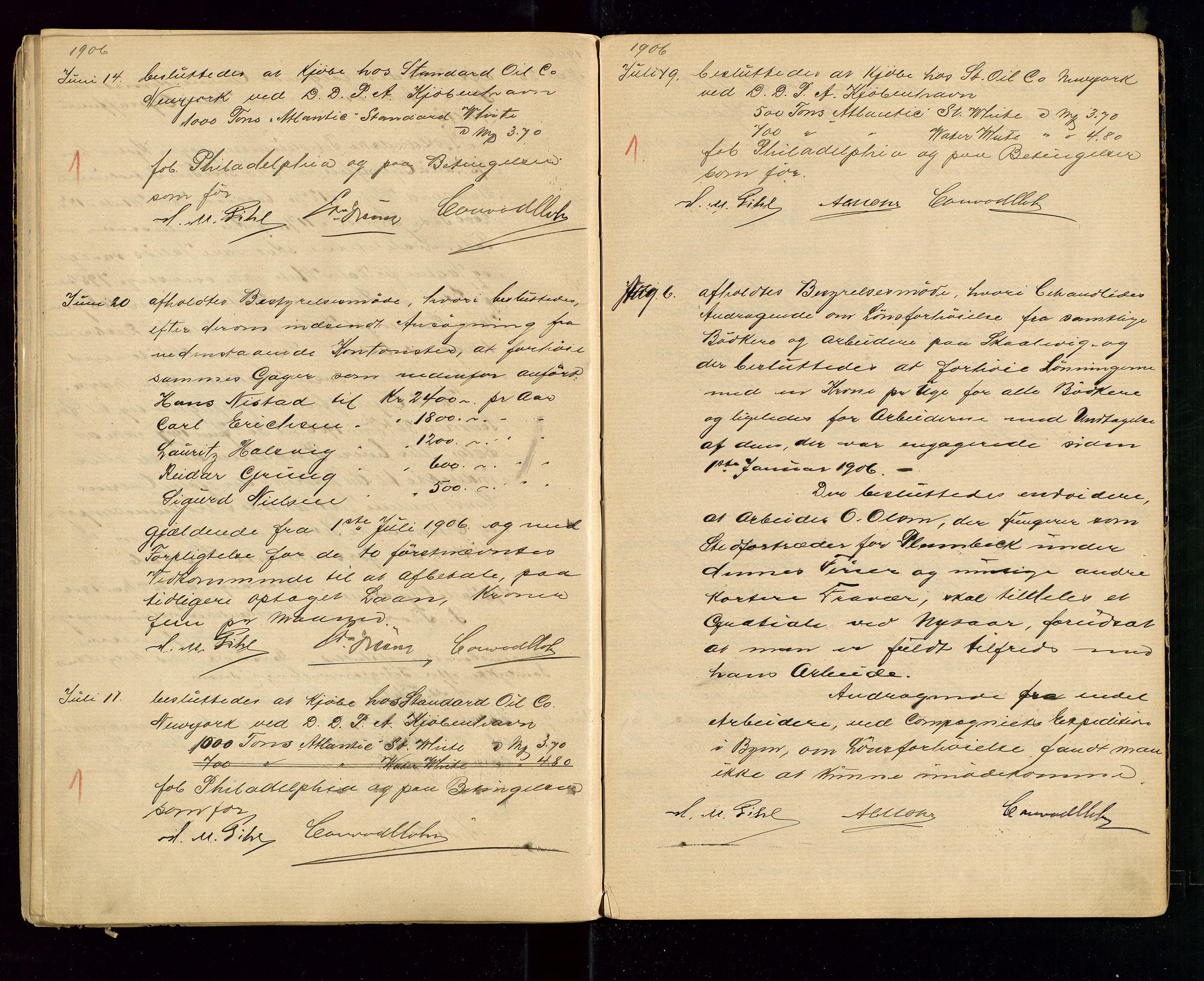 SAST, PA 1533 - A/S Vestlandske Petroleumscompani, A/Aa/L0001: Generalforsamlinger og styreprotokoller, 1890-1907, s. 64