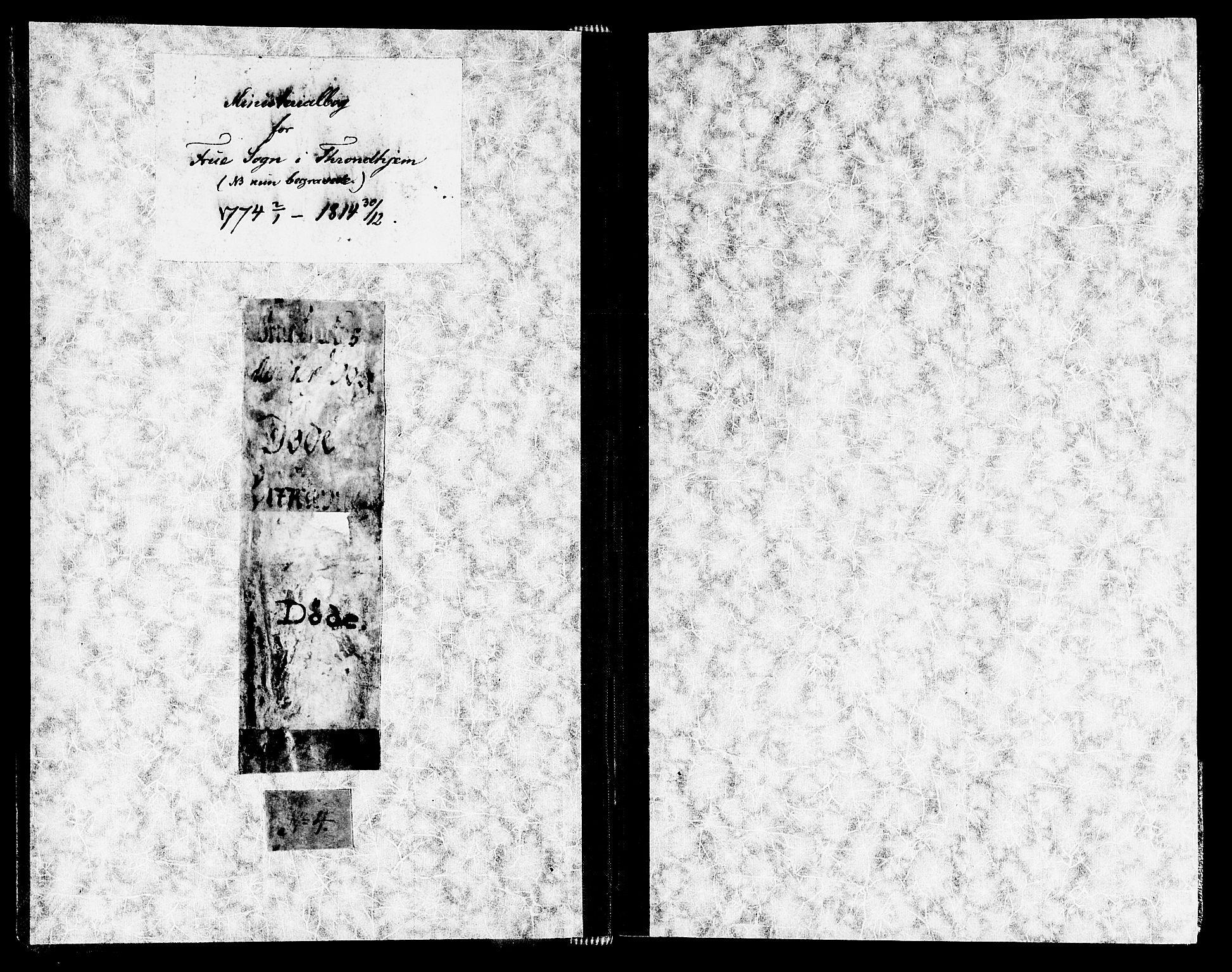 SAT, Ministerialprotokoller, klokkerbøker og fødselsregistre - Sør-Trøndelag, 602/L0106: Ministerialbok nr. 602A04, 1774-1814