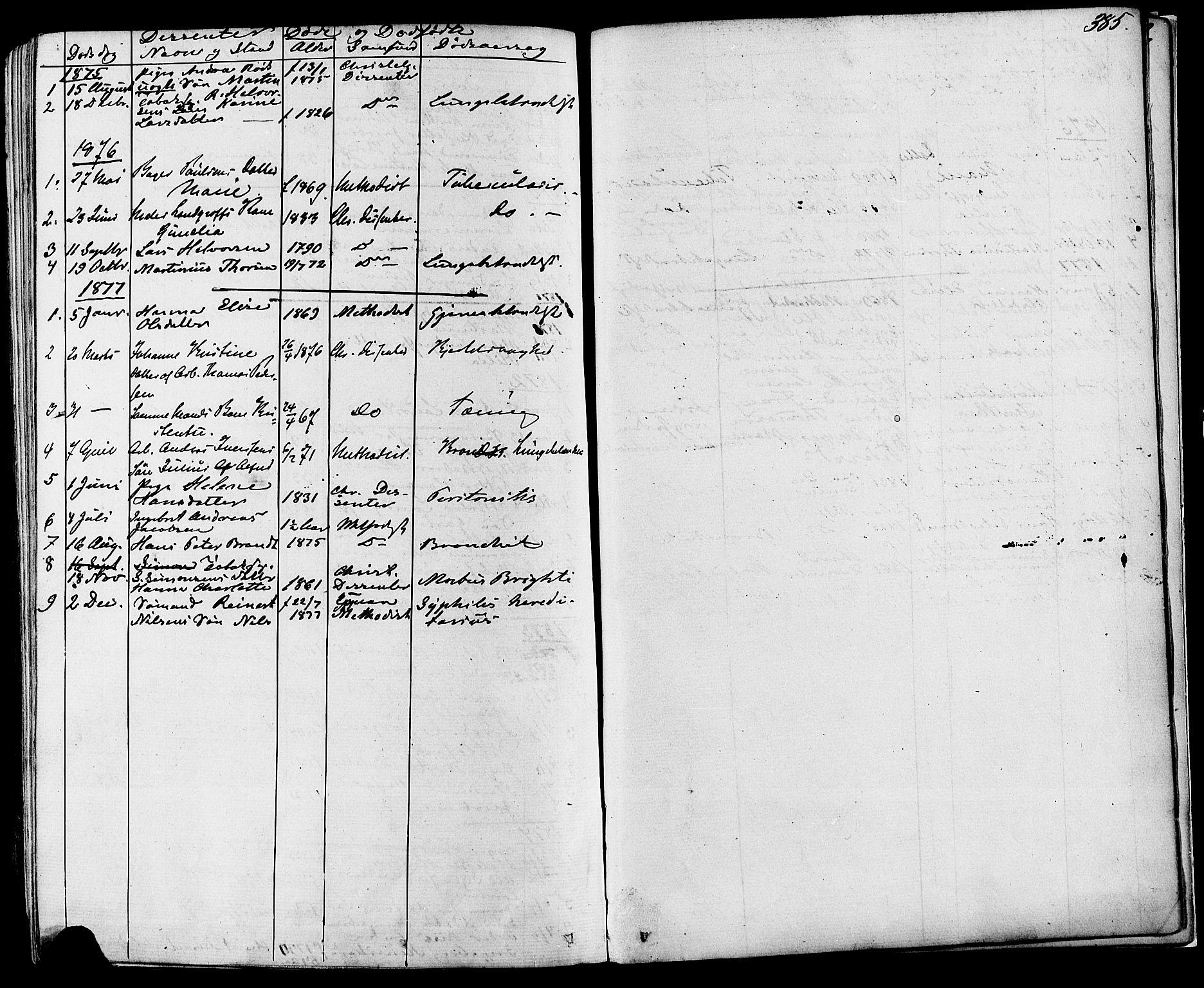SAKO, Skien kirkebøker, F/Fa/L0008: Ministerialbok nr. 8, 1866-1877, s. 385
