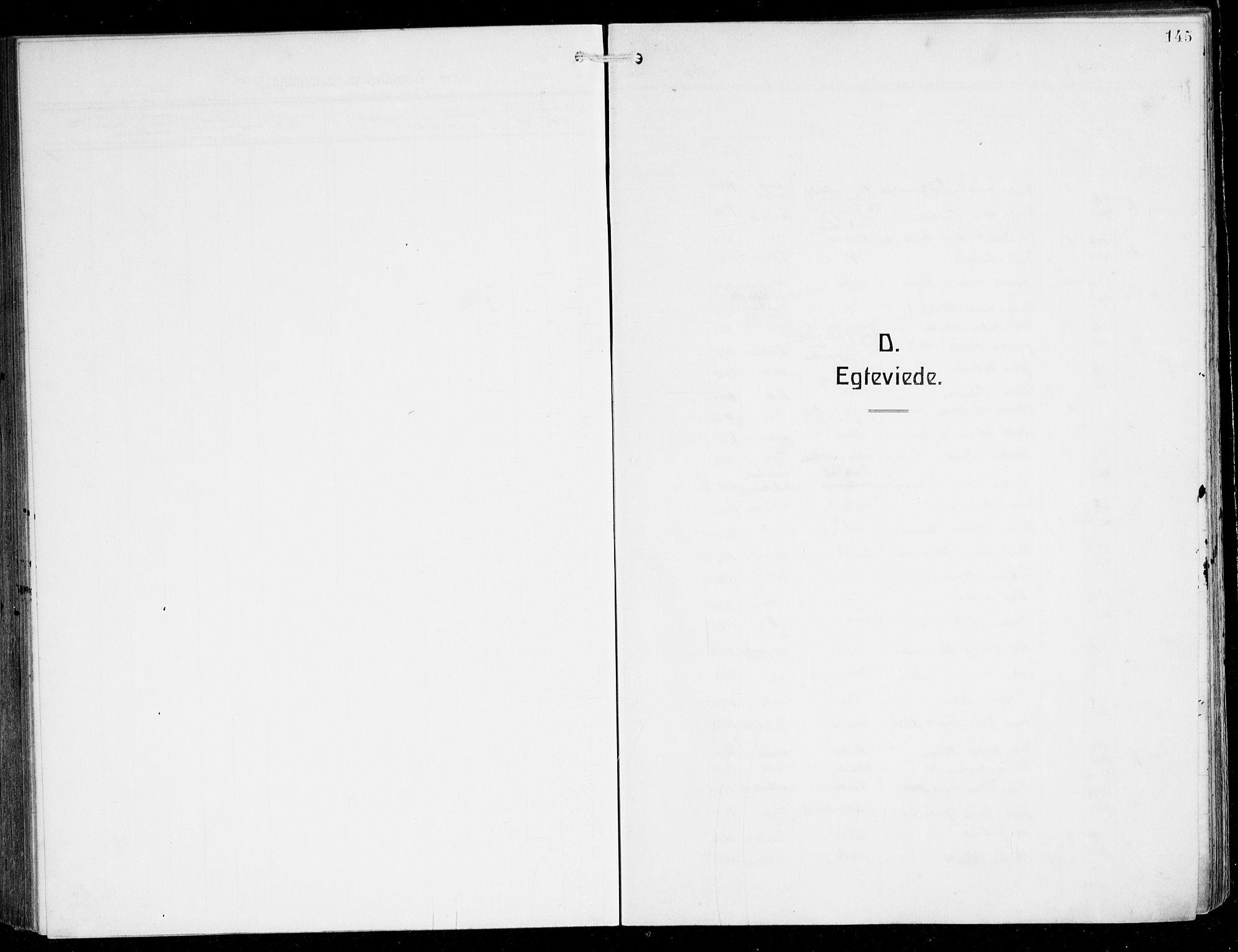 SAB, Herdla Sokneprestembete, H/Hab: Klokkerbok nr. C 2, 1913-1926, s. 145