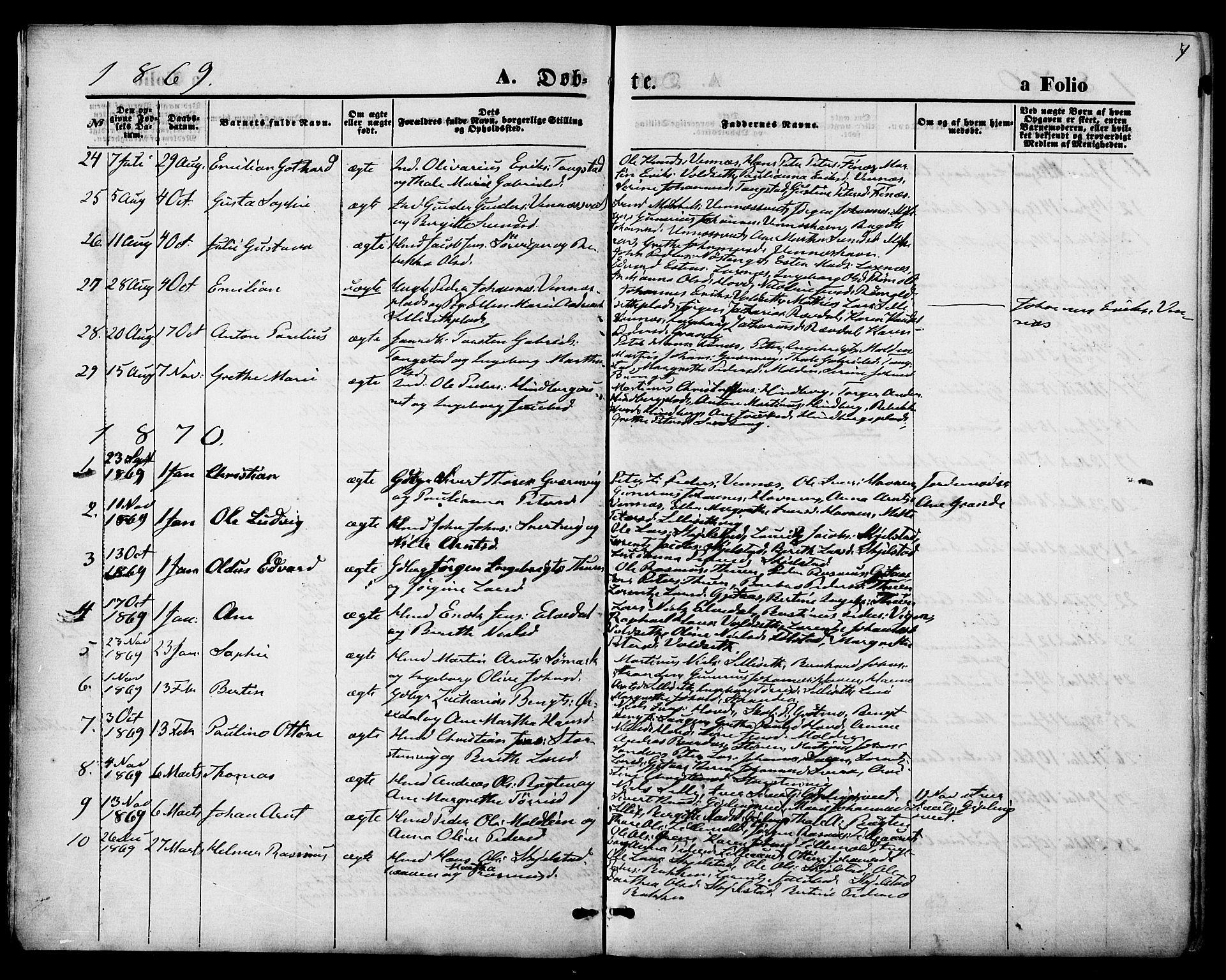 SAT, Ministerialprotokoller, klokkerbøker og fødselsregistre - Nord-Trøndelag, 744/L0419: Ministerialbok nr. 744A03, 1867-1881, s. 7