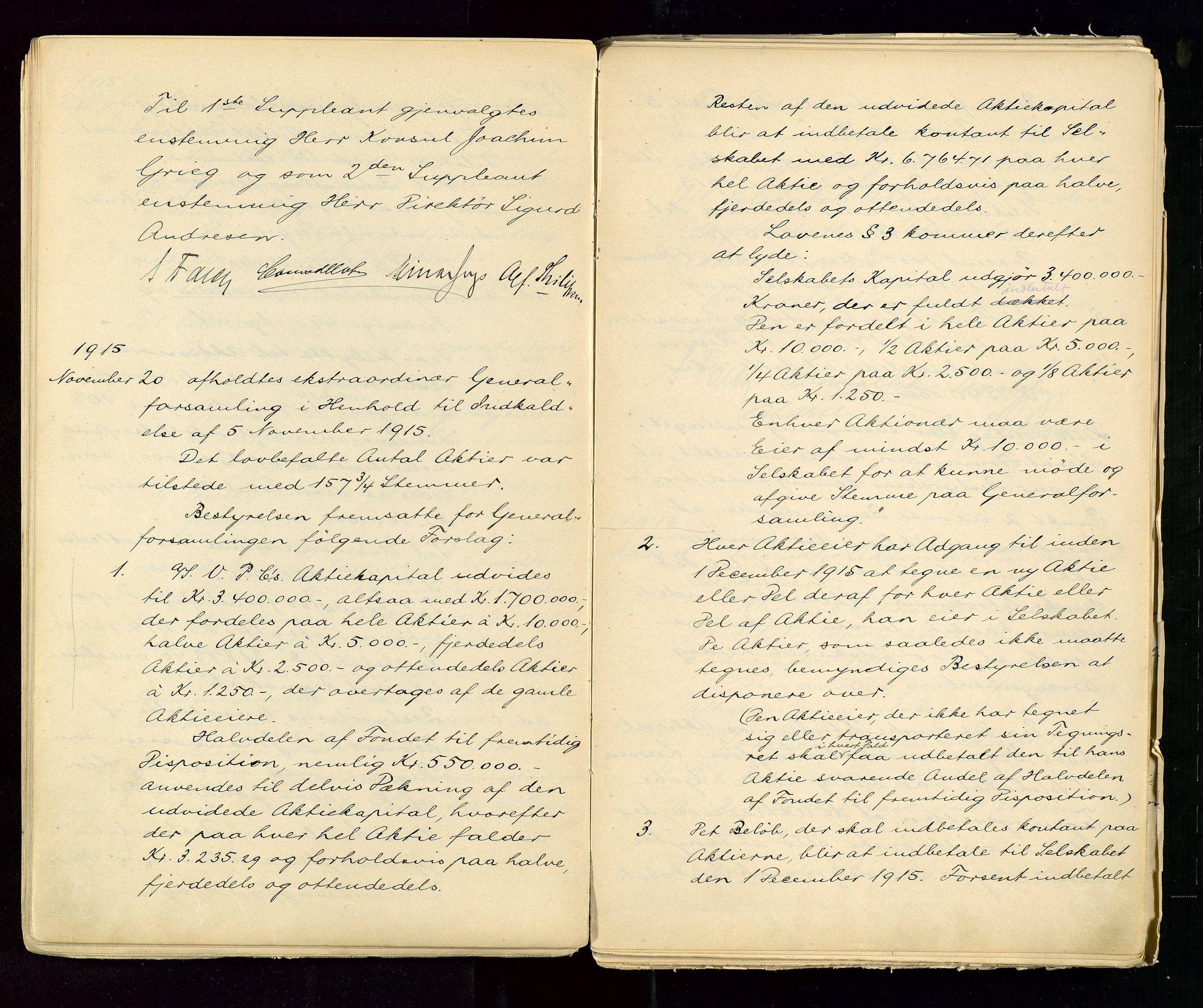 SAST, PA 1533 - A/S Vestlandske Petroleumscompani, A/Aa/L0001: Generalforsamlinger og styreprotokoller, 1890-1953, s. 54