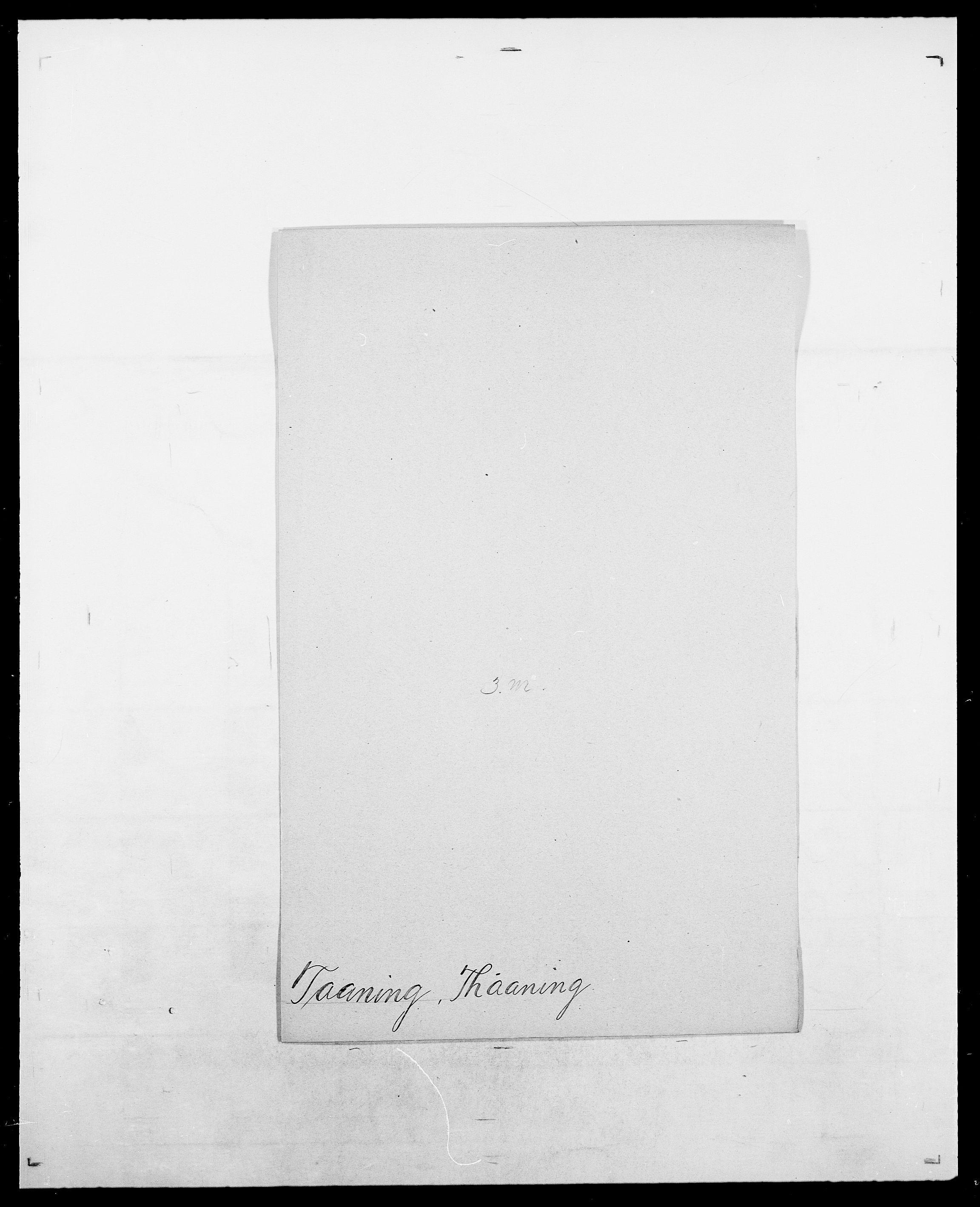 SAO, Delgobe, Charles Antoine - samling, D/Da/L0038: Svanenskjold - Thornsohn, s. 259
