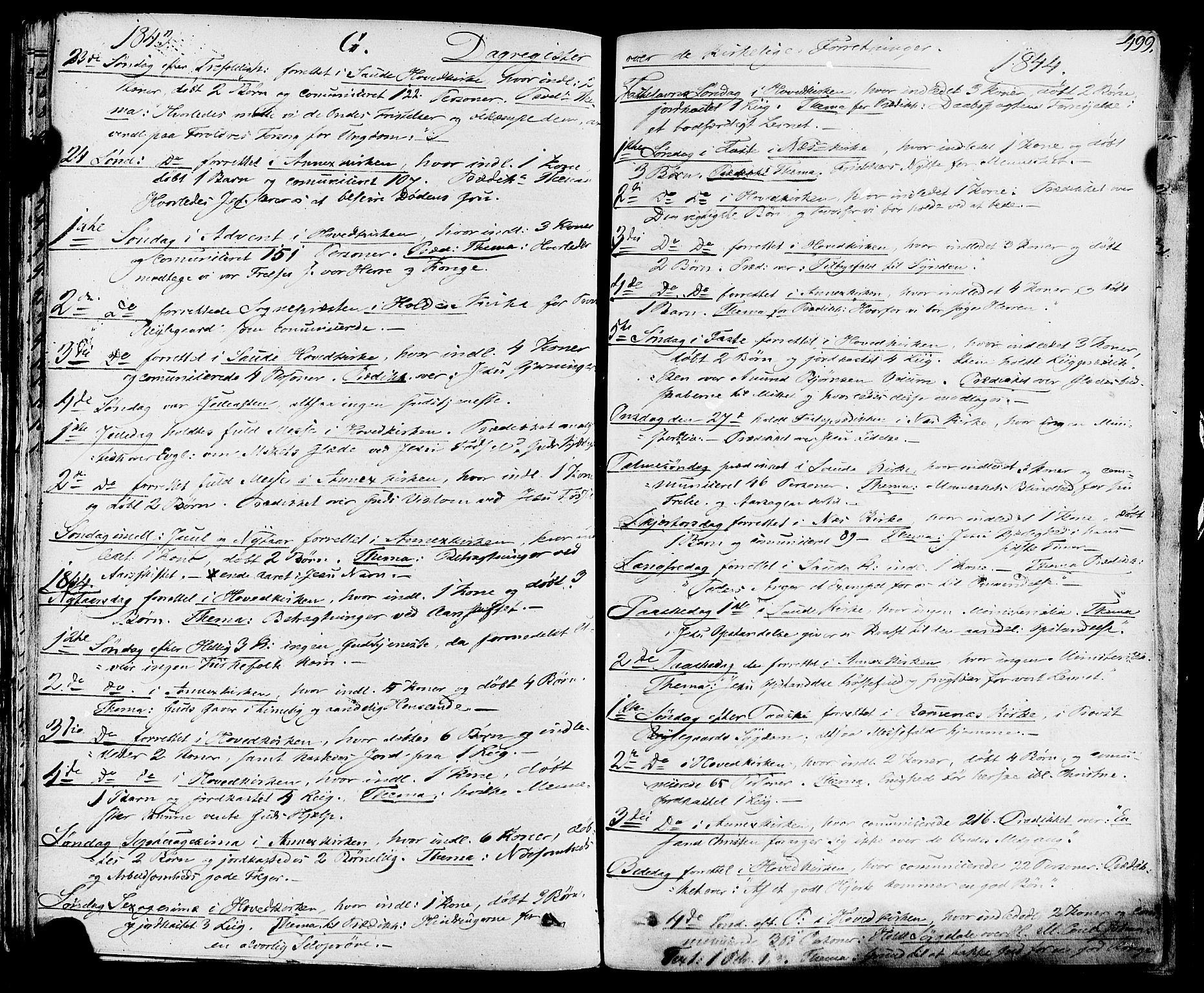 SAKO, Sauherad kirkebøker, F/Fa/L0006: Ministerialbok nr. I 6, 1827-1850, s. 499