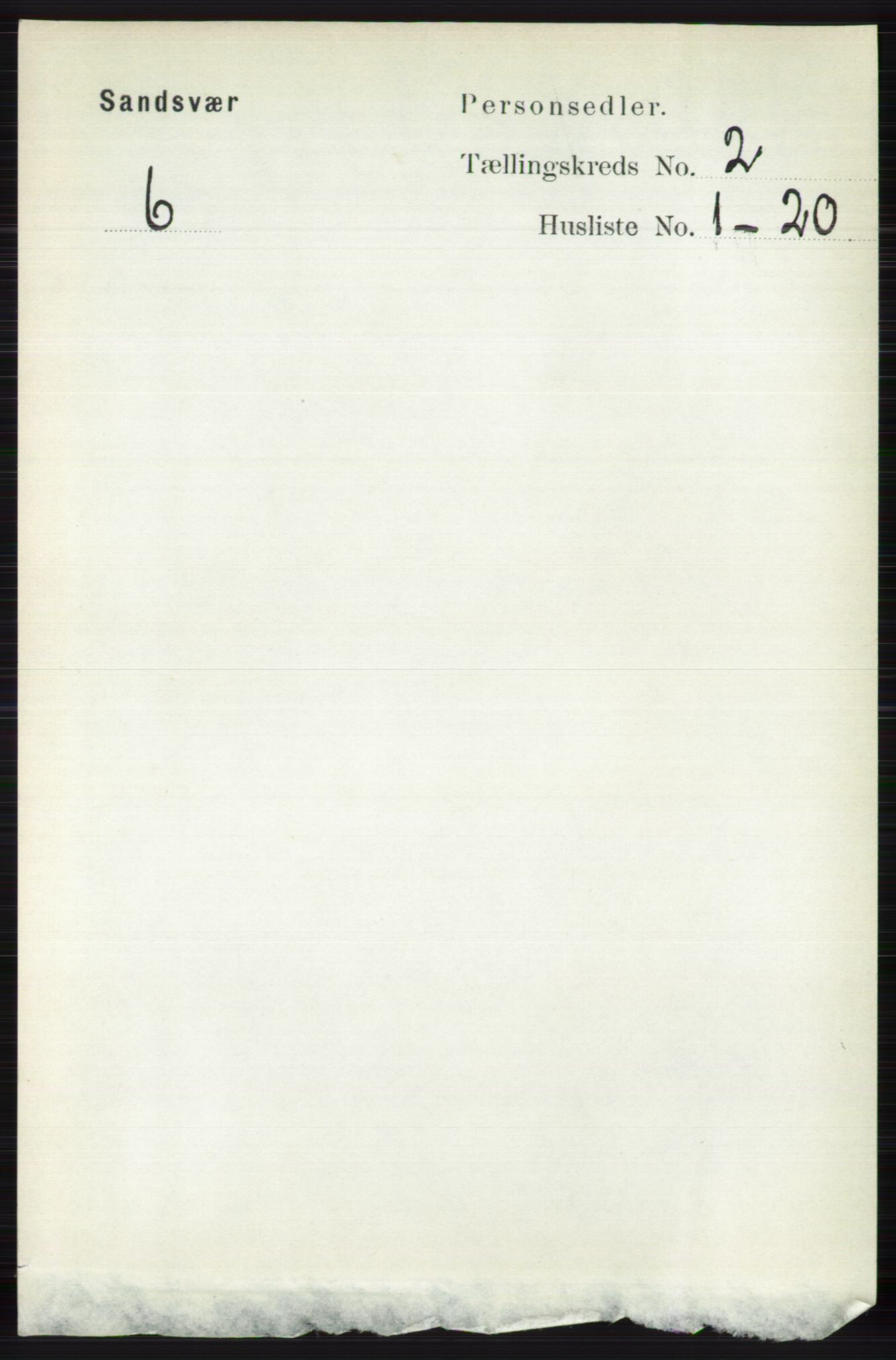 RA, Folketelling 1891 for 0629 Sandsvær herred, 1891, s. 679