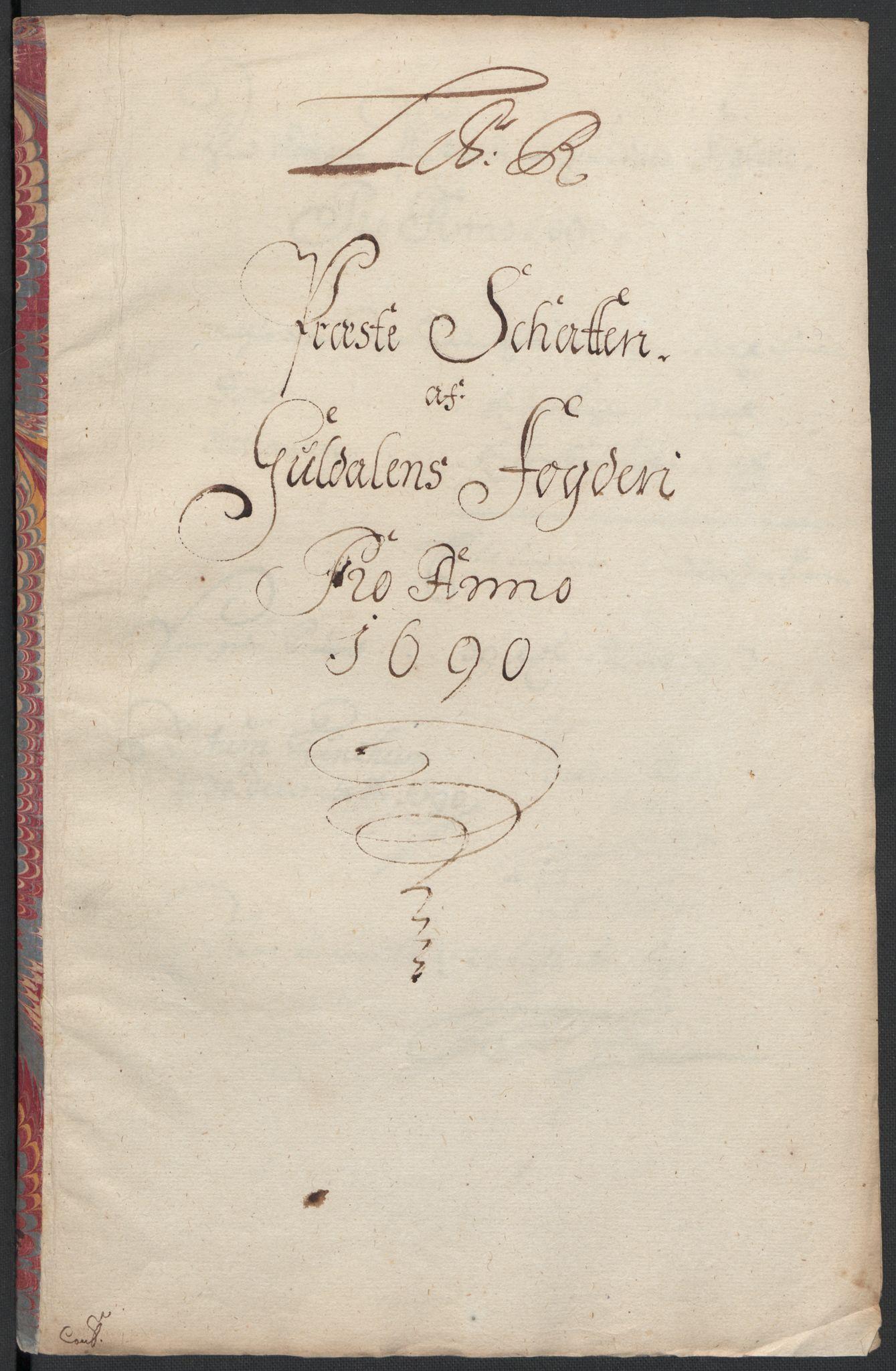 RA, Rentekammeret inntil 1814, Reviderte regnskaper, Fogderegnskap, R59/L3940: Fogderegnskap Gauldal, 1689-1690, s. 369